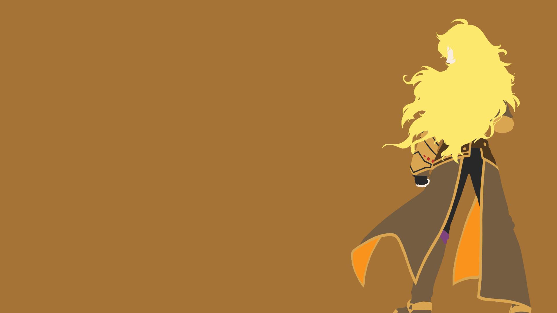 Res: 1920x1080, RWBY – yang new design wallpaper