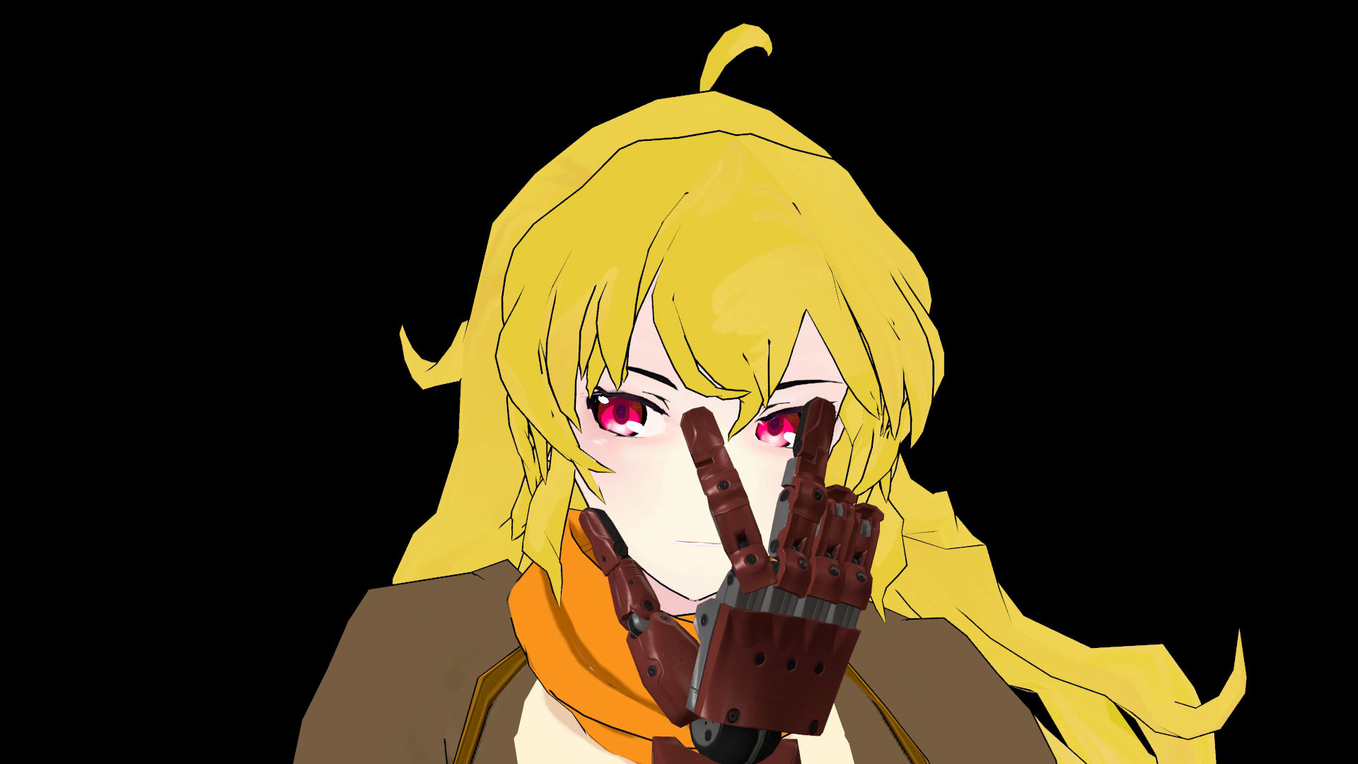 Res: 1920x1080, Metal Gear Solid V: The Phantom Pain Yang Xiao Long yellow vertebrate  fictional character cartoon
