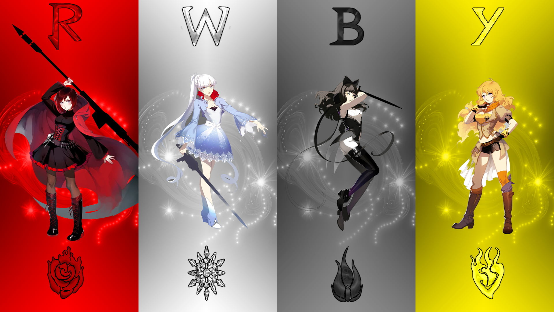 Res: 1920x1080, RWBY anime character digital wallpaper HD wallpaper