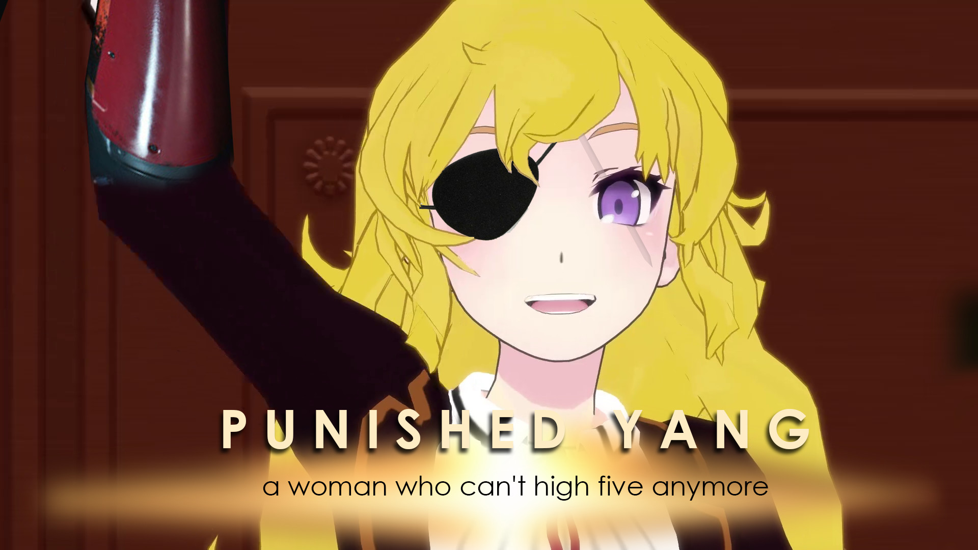 Res: 1920x1080, PUNIS a woman who can't high five anymore