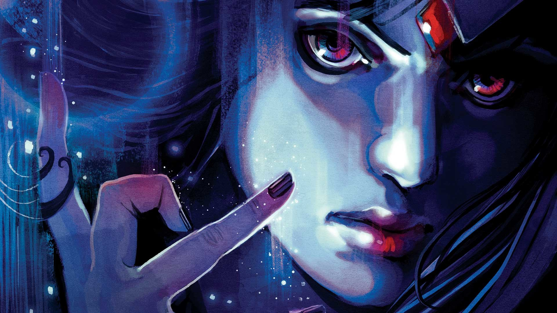 Res: 1920x1080, RAVEN #5 cover by Stephanie Hans
