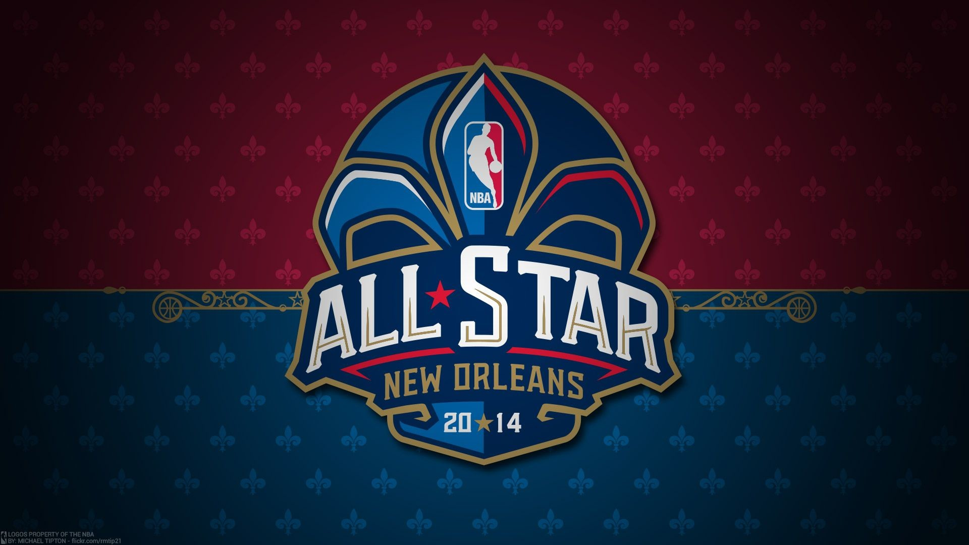 Res: 1920x1080, 2014-NBA-All-Star-Logo--BasketWallpapers.com-