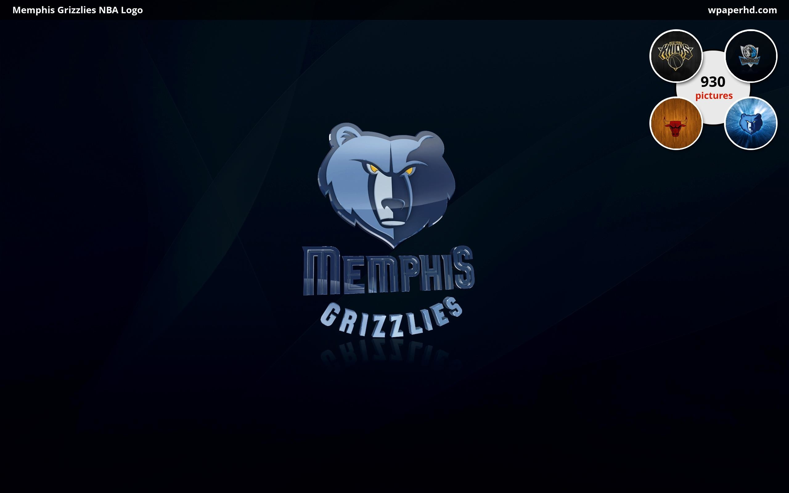 Res: 2560x1600, Description Memphis Grizzlies NBA Logo wallpaper from Basketball category.  You are on page with Memphis Grizzlies NBA Logo wallpaper ...