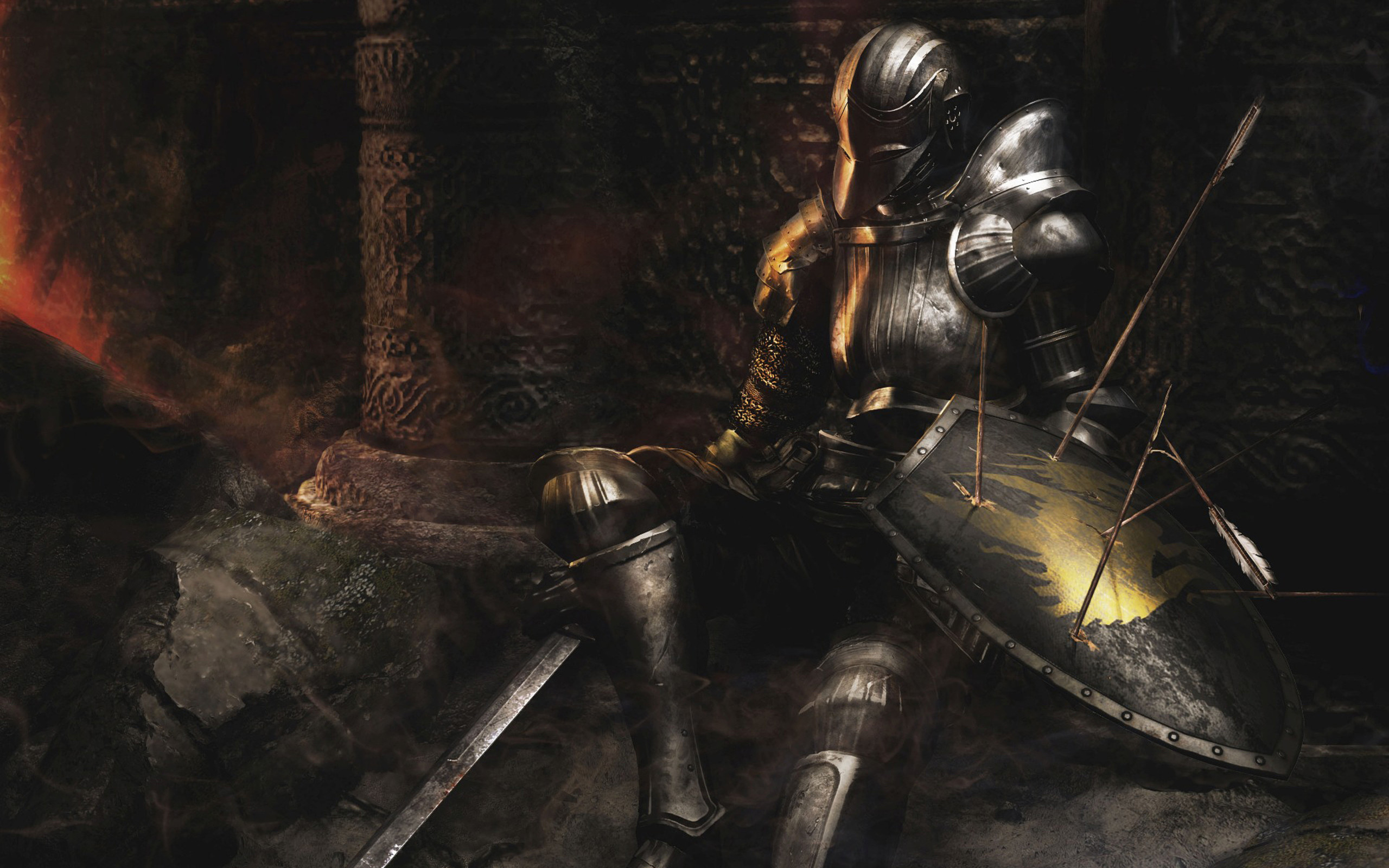 Res: 2560x1600, Video Game - Demon's Souls Wallpaper