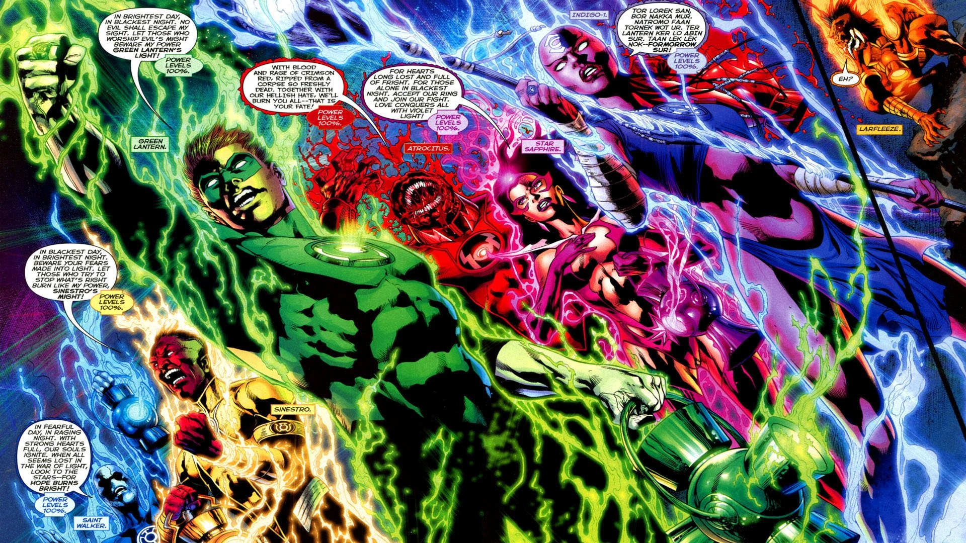 Res: 1920x1080, Comics - Blackest Night Green Lantern Red Lantern Wallpaper