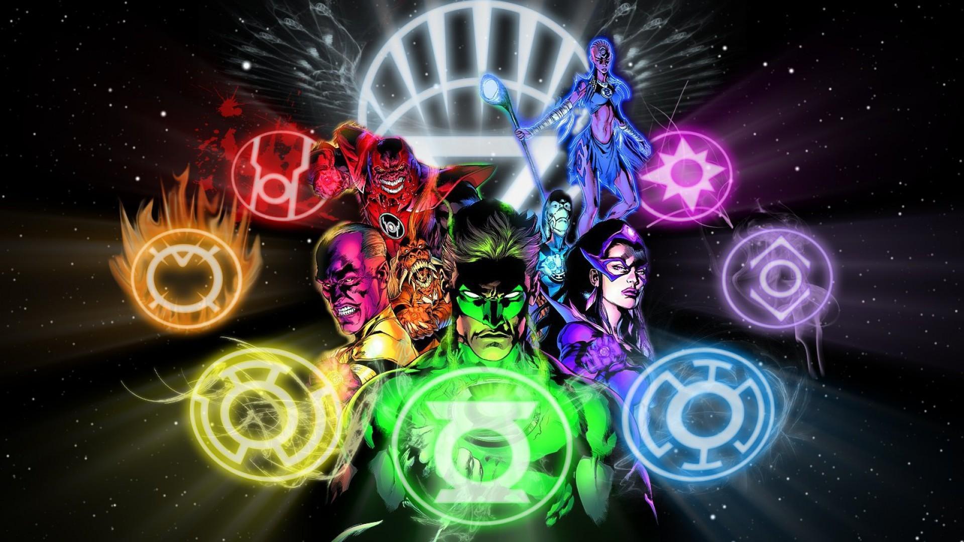 Res: 1920x1080, Green Lantern DC Comics White Lantern Larfleeze Atrocitus Blackest Night  Saint Walker sinestro