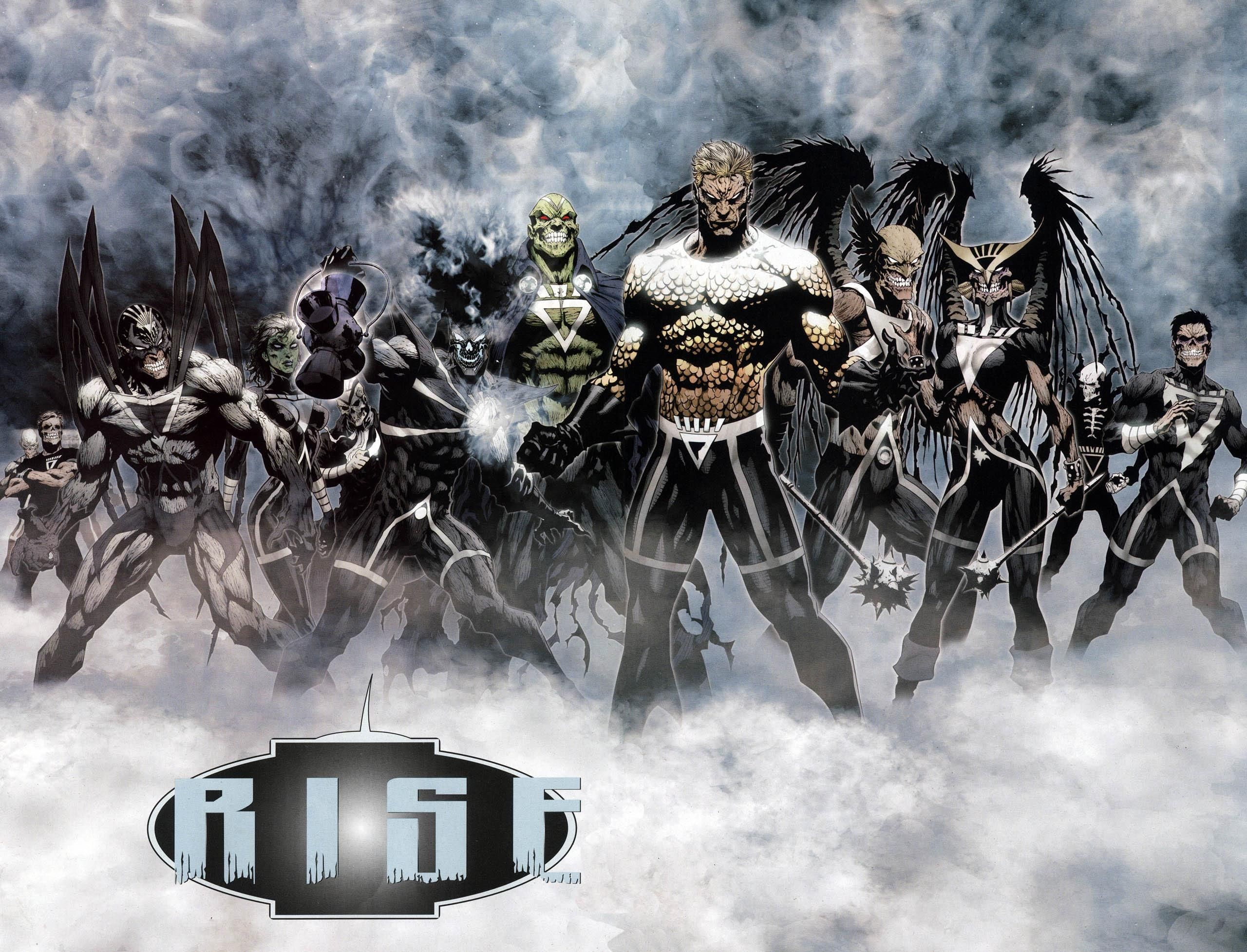 Res: 2560x1955, [Green Lantern] - Black Lantern Corps Rebirth