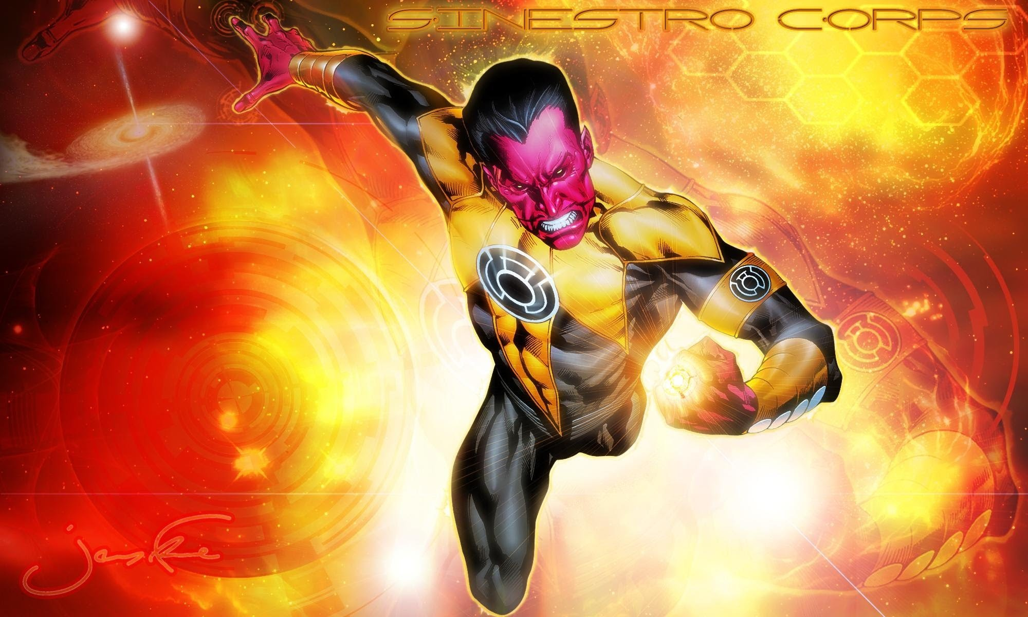 Res: 2000x1200, The Ballad of Thaal Sinestro The Fallen and New Warrior