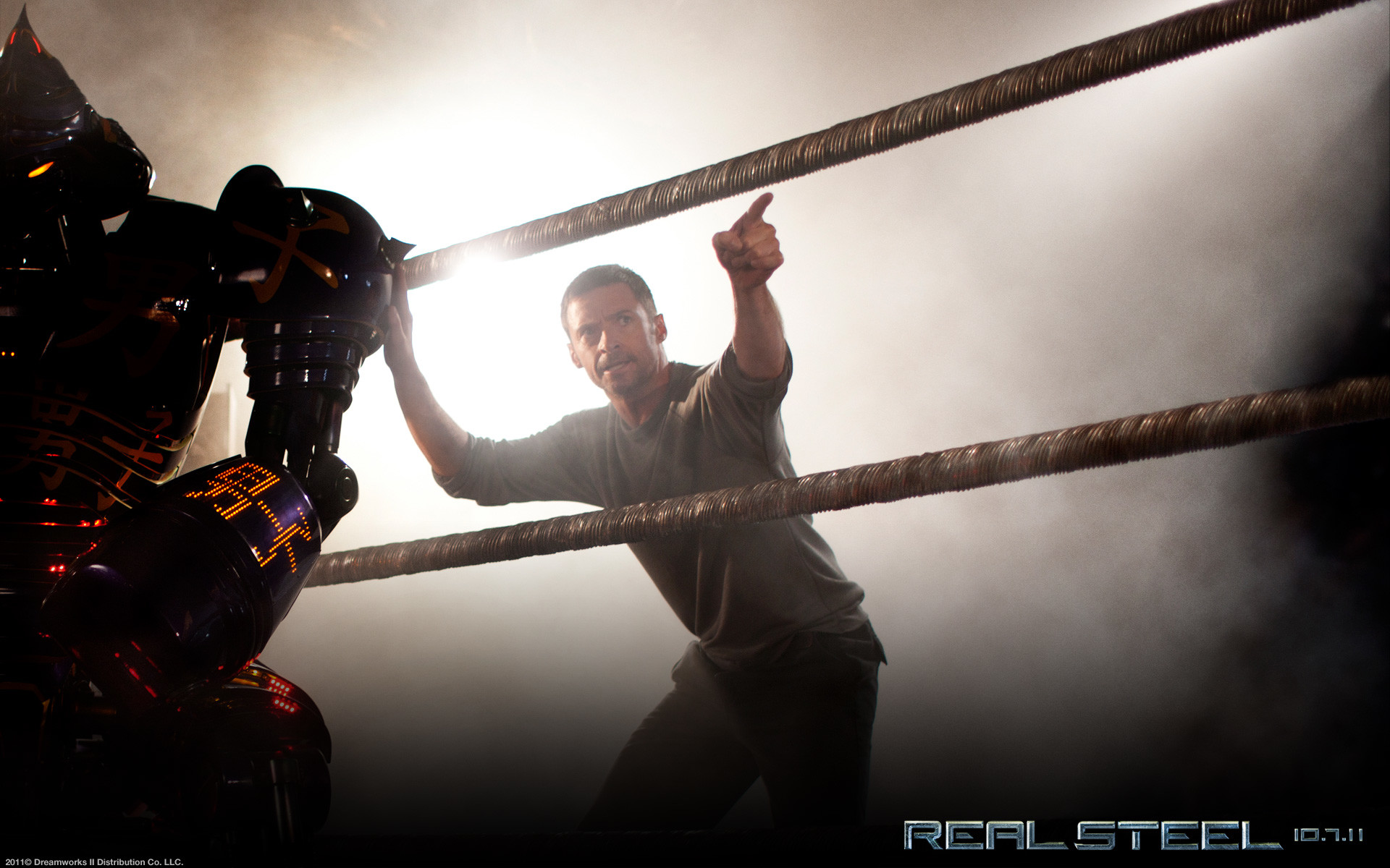 Res: 1920x1200, Hugh Jackman in Real Steel Wallpaper