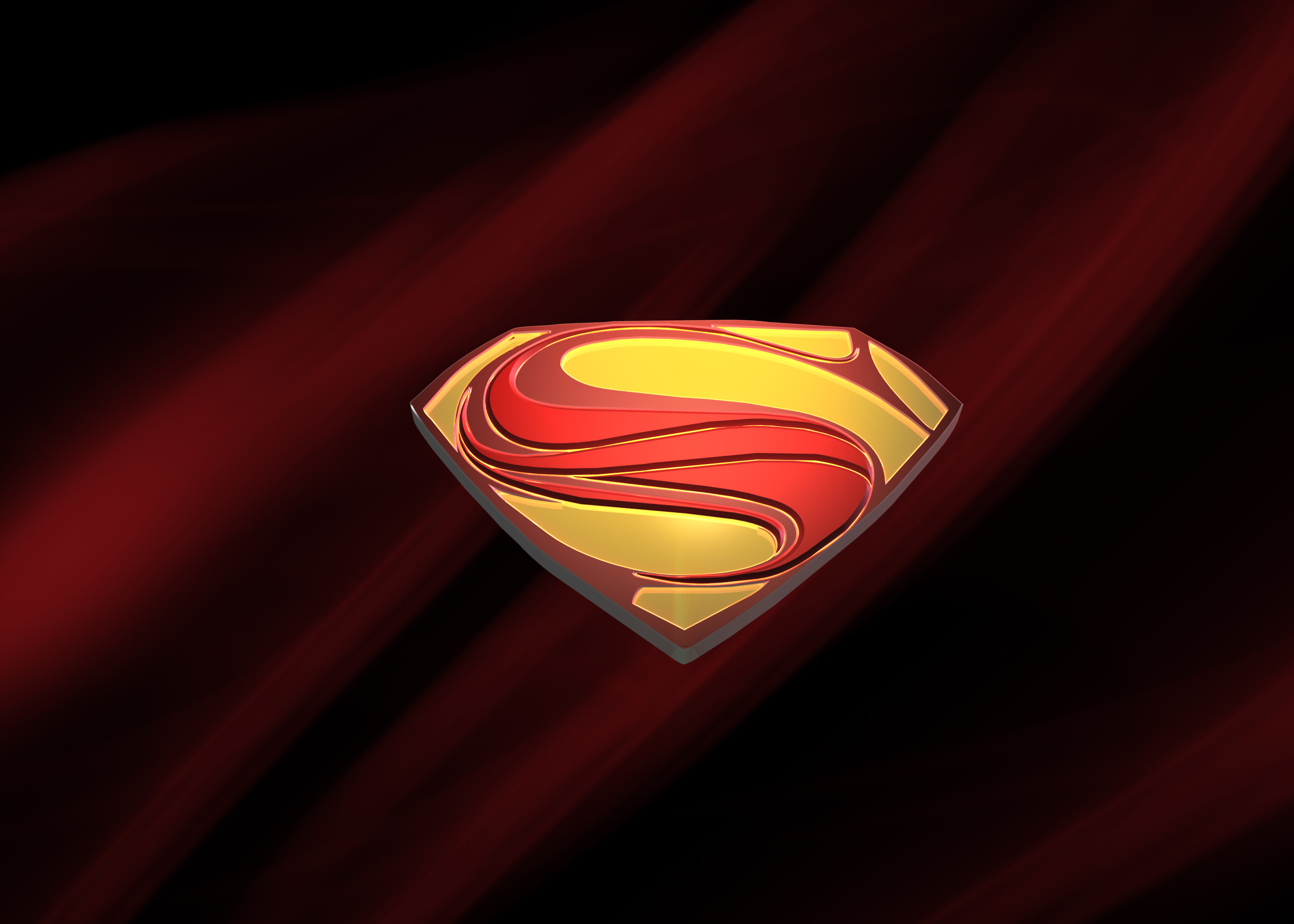 Res: 2500x1786, Superman Man Of Steel Logo Wallpaper Images Is Cool Wallpapers