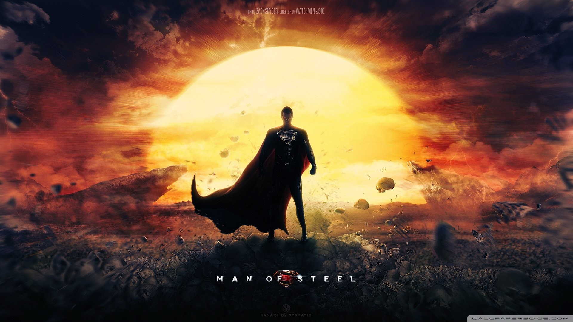 Res: 1920x1080, Man Of Steel Wallpaper Superman Movie HD Wide Wallpaper for 4K UHD  Widescreen desktop & smartphone