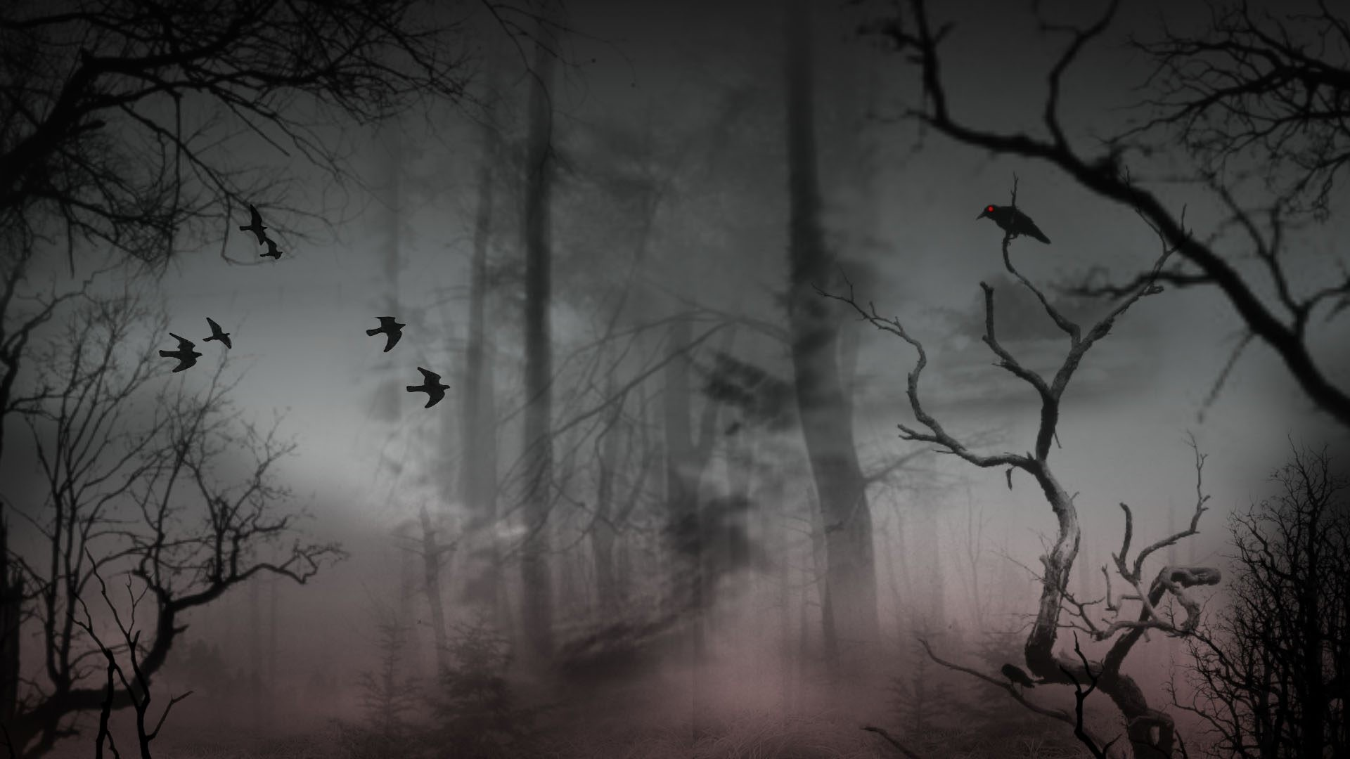 Res: 1920x1080, Haunted Forest