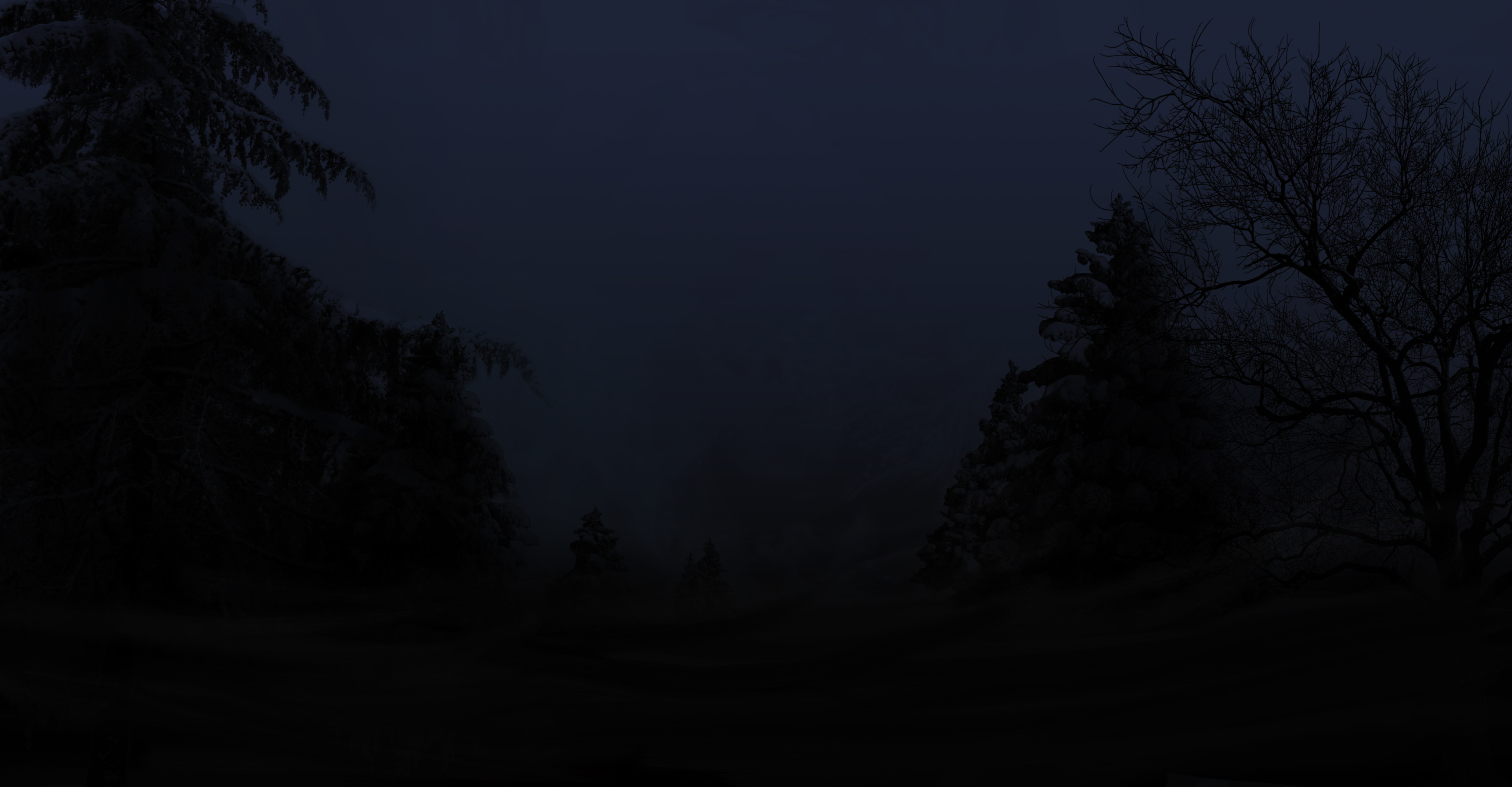 Res: 3840x2000, Haunted Forest by revengous Haunted Forest by revengous