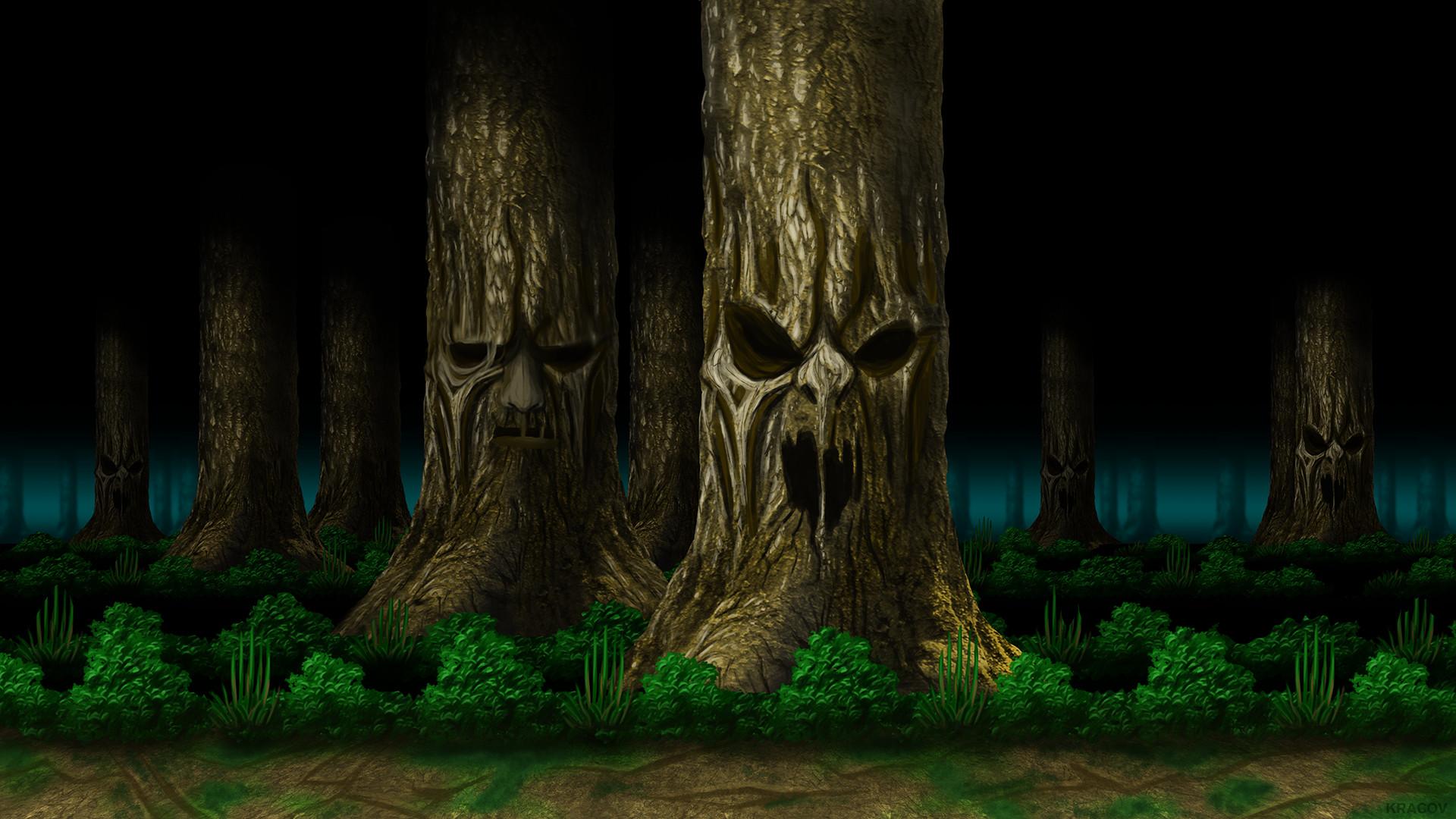 Res: 1920x1080, ... Mortal Kombat Living Forest HD by Kracov