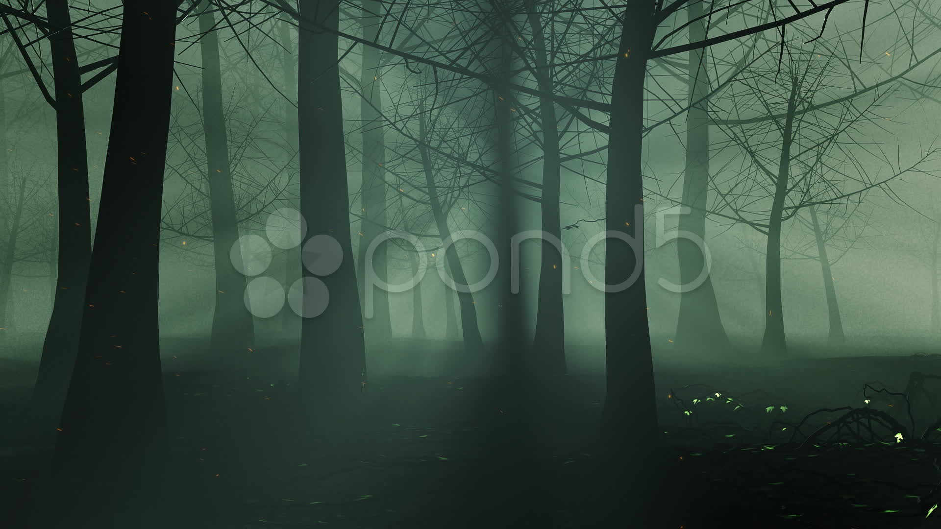 Res: 1920x1080, Halloween Haunted Forests