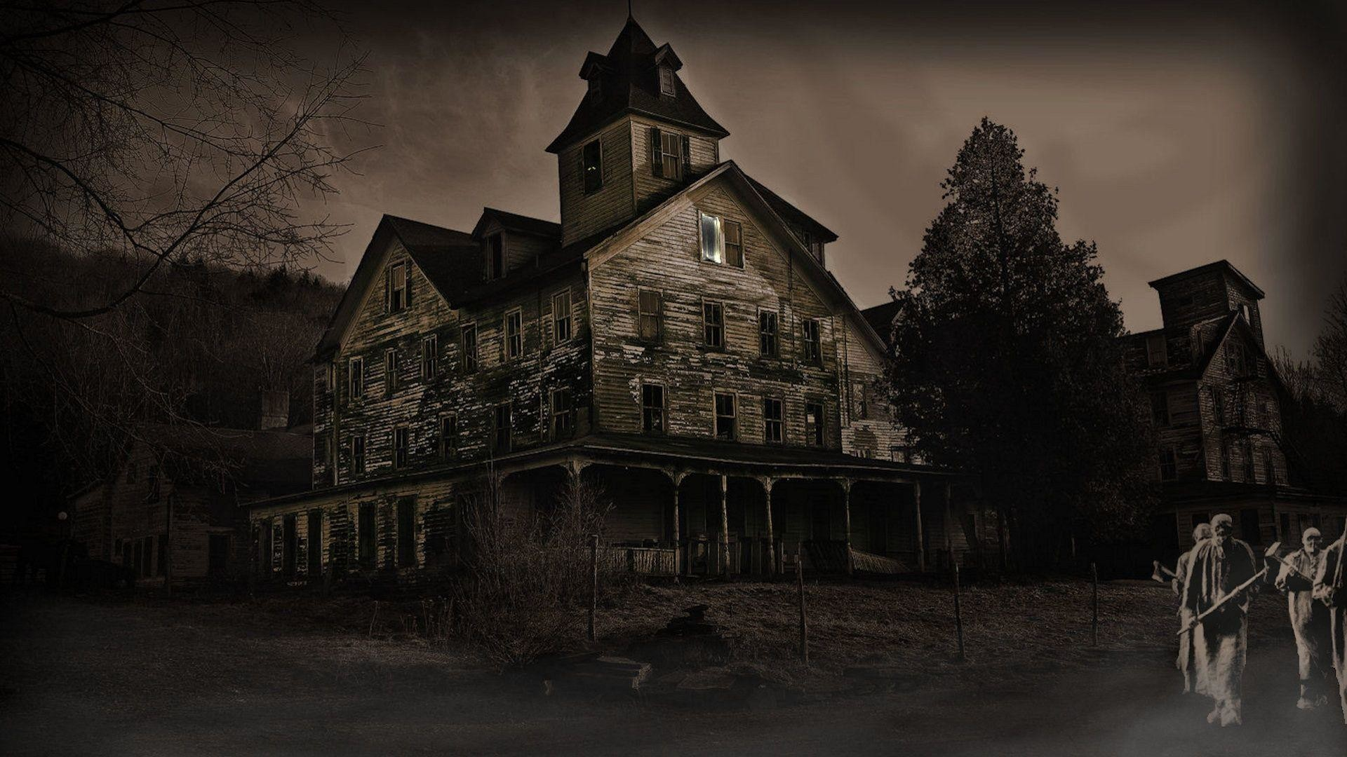 Res: 1920x1080, Haunted House wallpaper - 793459