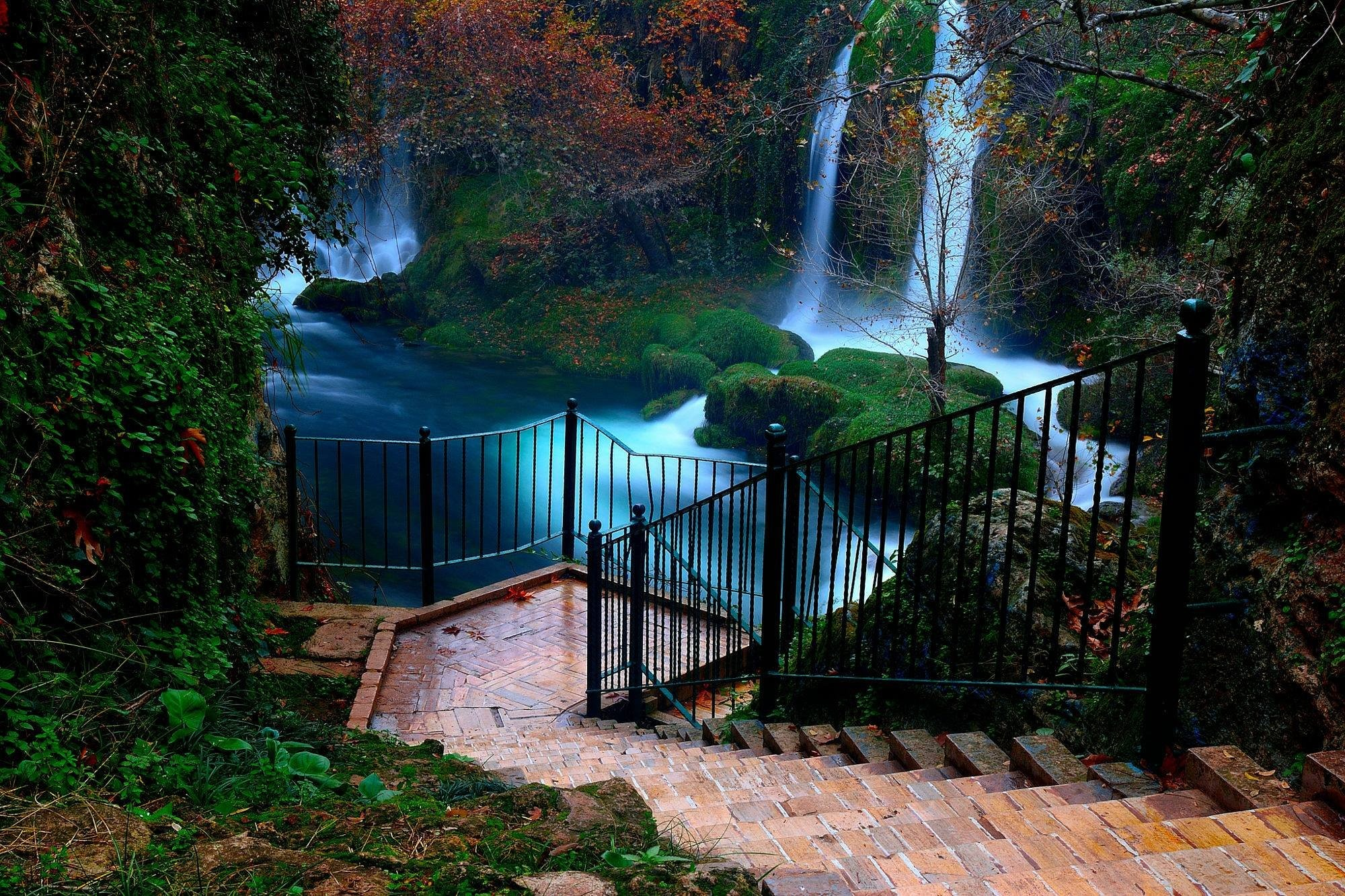 Res: 2000x1333, waterfall, landscape, antalya hd nature wallpapers, amazing, background  images,nature backgrounds,duden, tumblr, nature, beauty Wallpaper HD