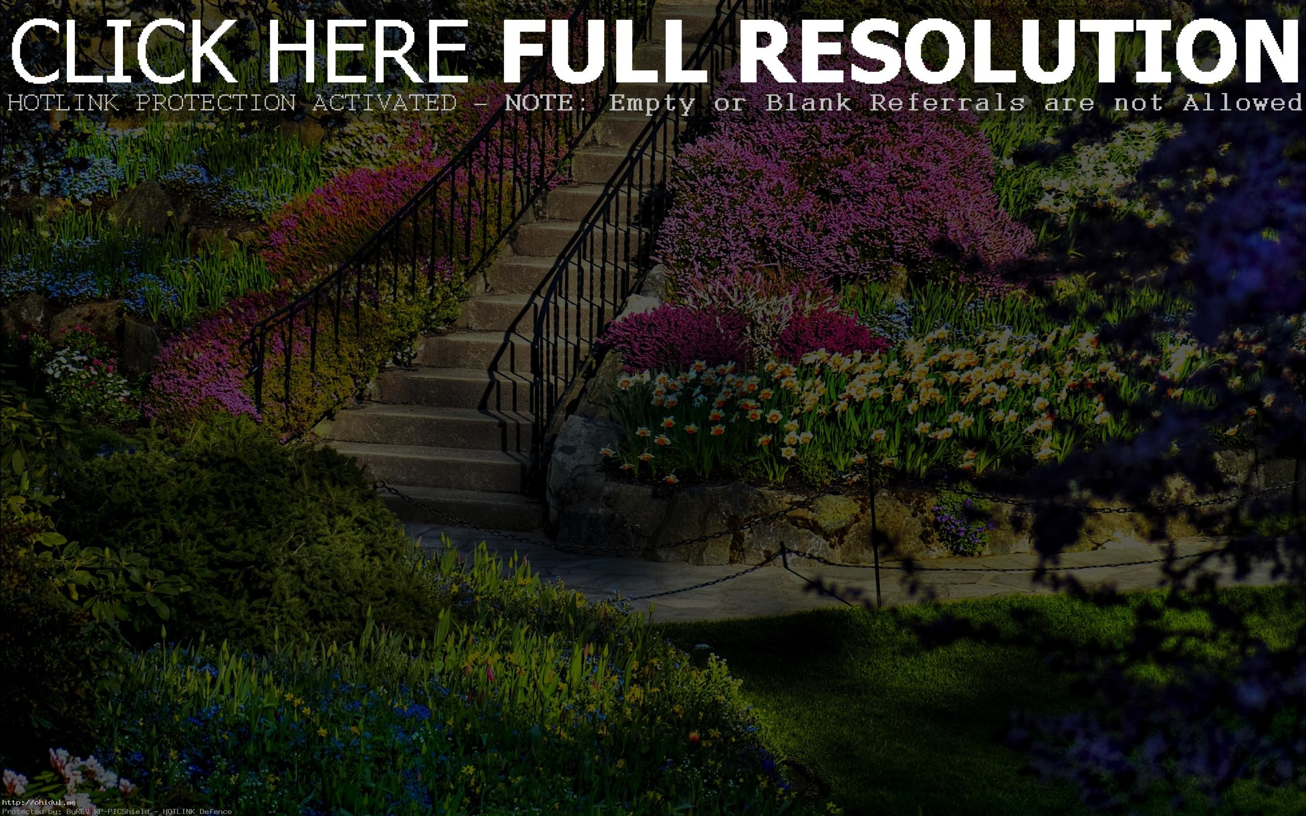 Res: 2560x1600, ... Beautiful Nature Garden HD Wallpaper Wallpapers New Bright ...
