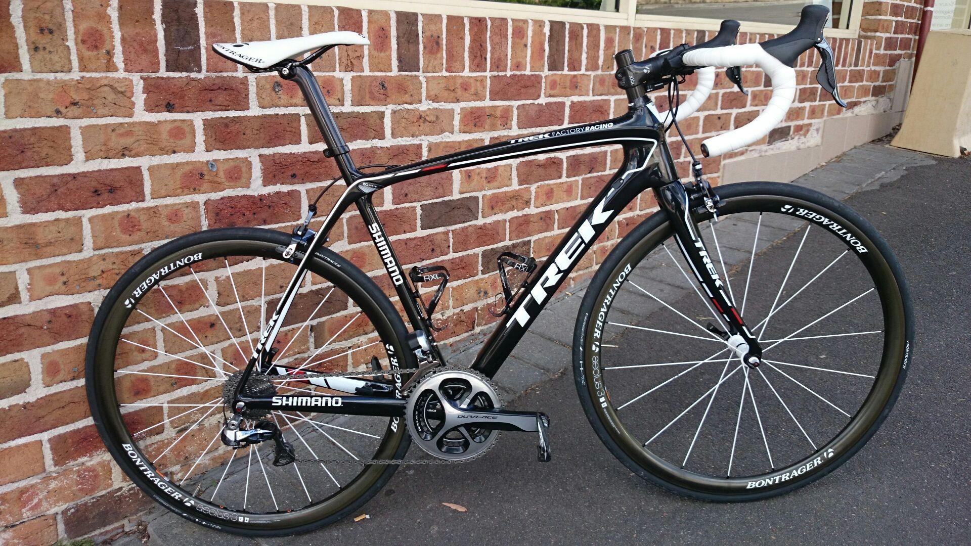 Res: 1920x1080, New bike day. Trek RSL Domane Koppenberg.