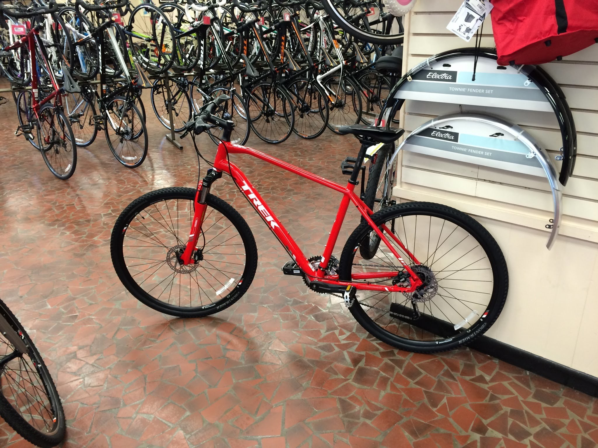 Res: 2048x1536, New Trek Bicycle Dual Sport 8.4 in Viper Red Has Arrived! - June 23, 2015 -  YouTube