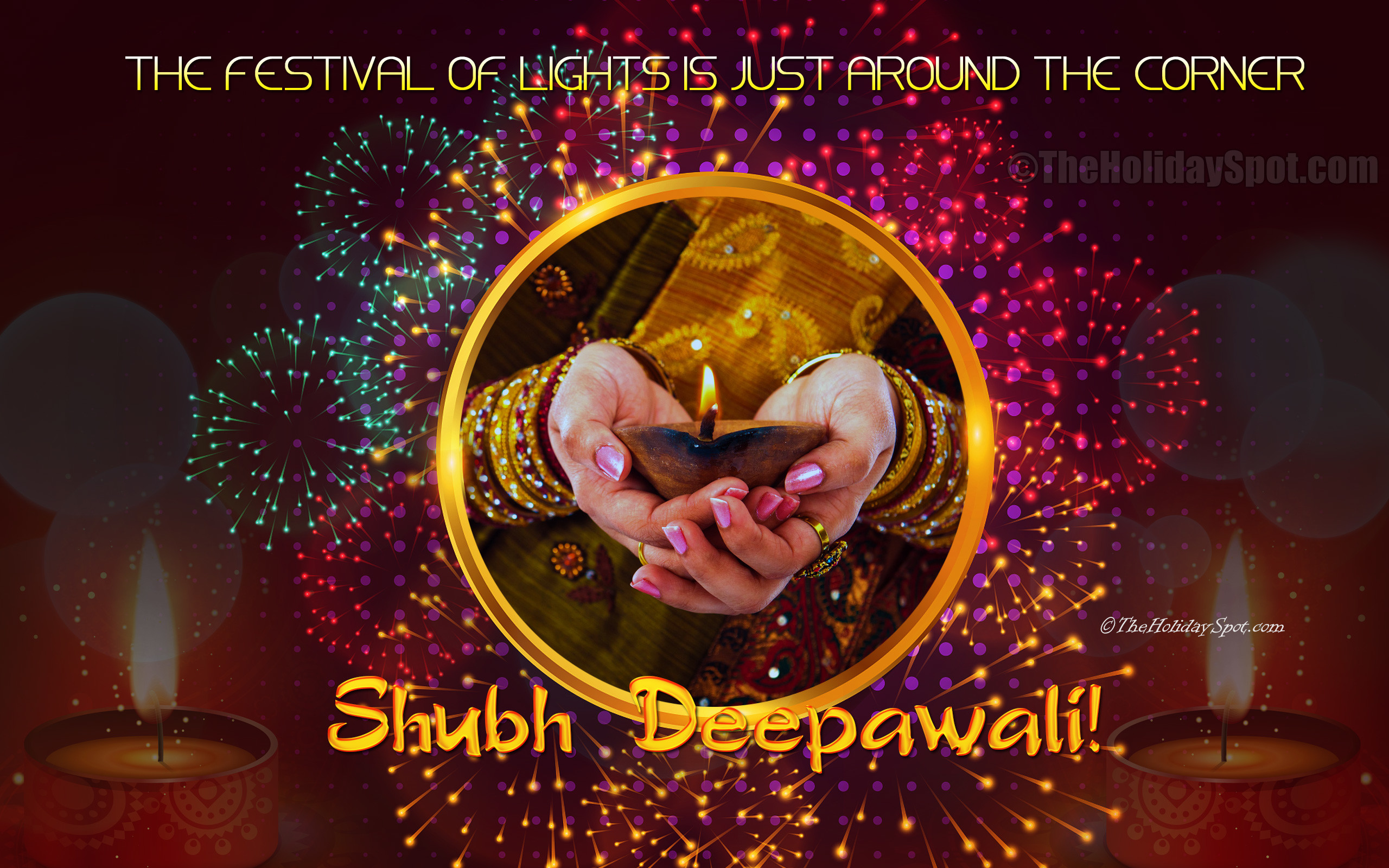 Res: 2560x1600, Shubh Deepawali, the Festival of Lights