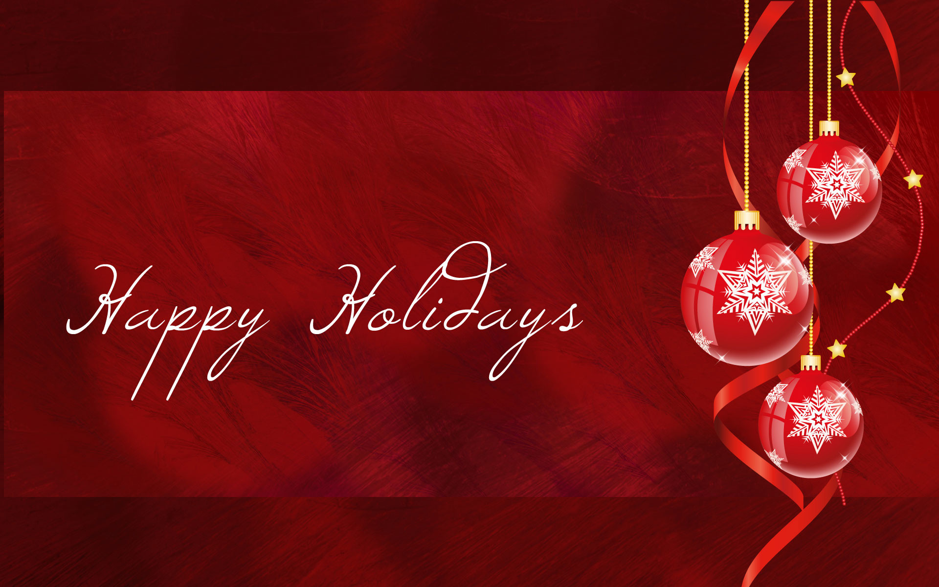 Res: 1920x1200, happy-holidays-white-red-ornaments-widescreen-wallpaper