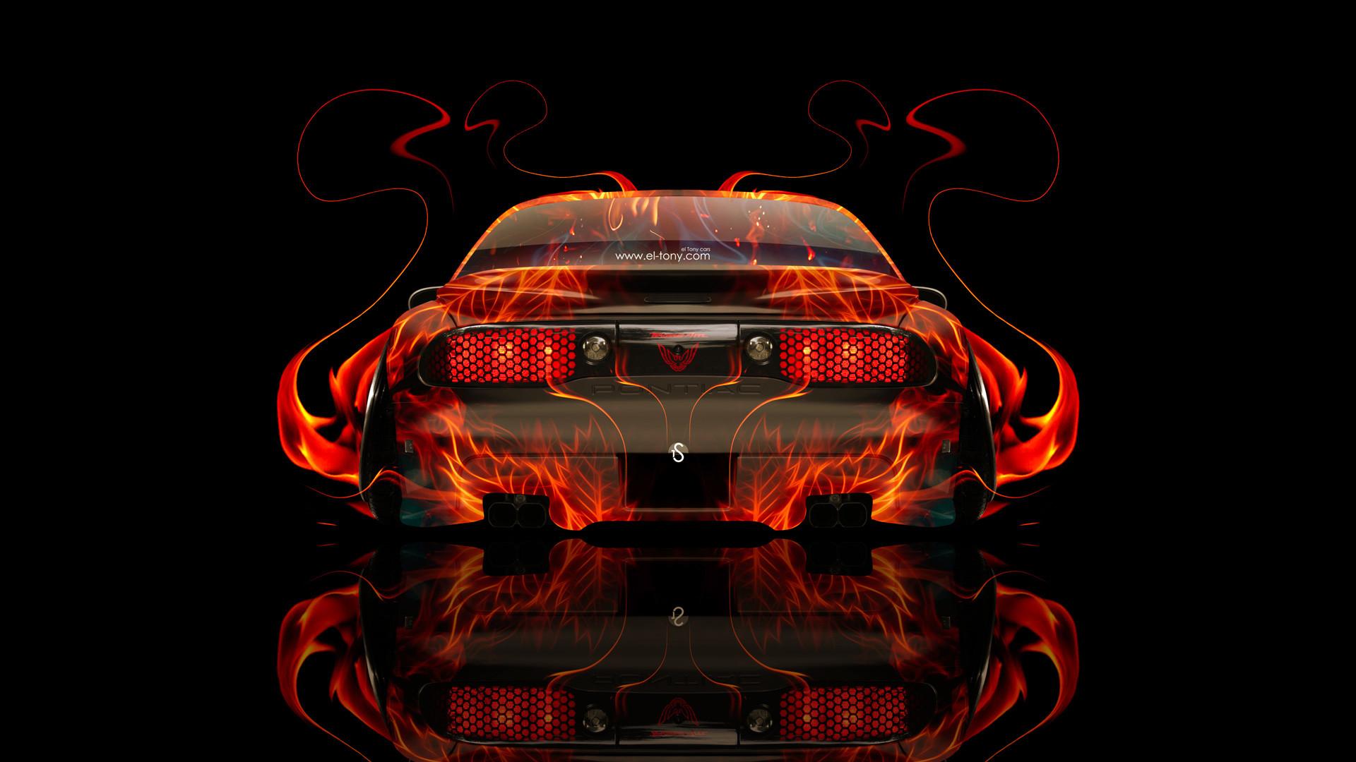 Res: 1920x1080, Pontiac-Firebird-Back-Fire-Abstract-Car-2014-HD-