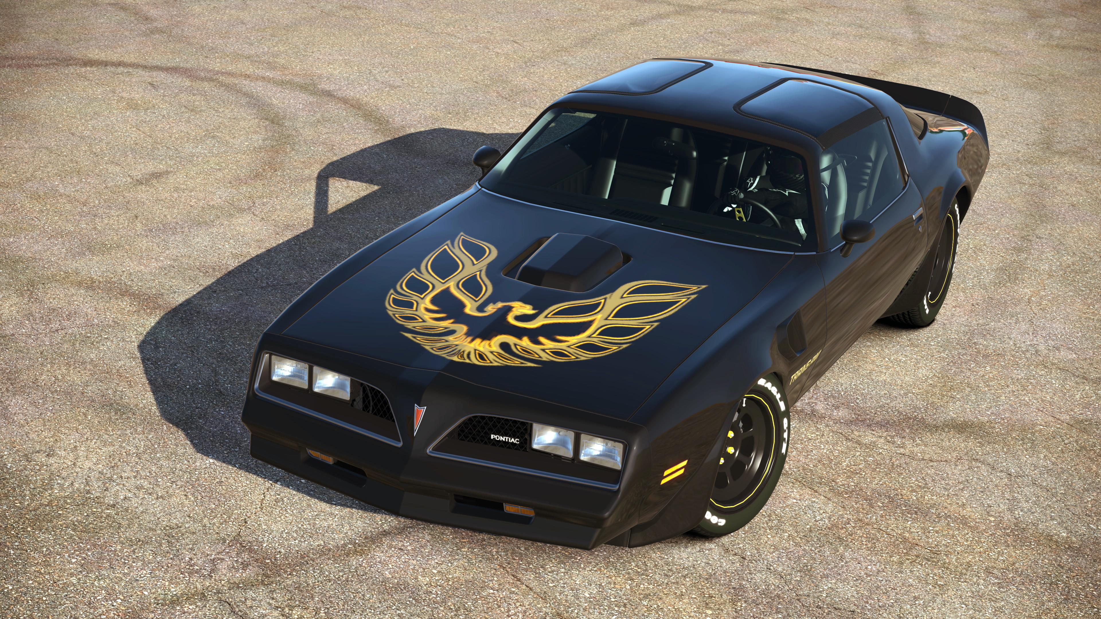 Res: 3840x2160, Pontiac Firebird Trans Am 2014