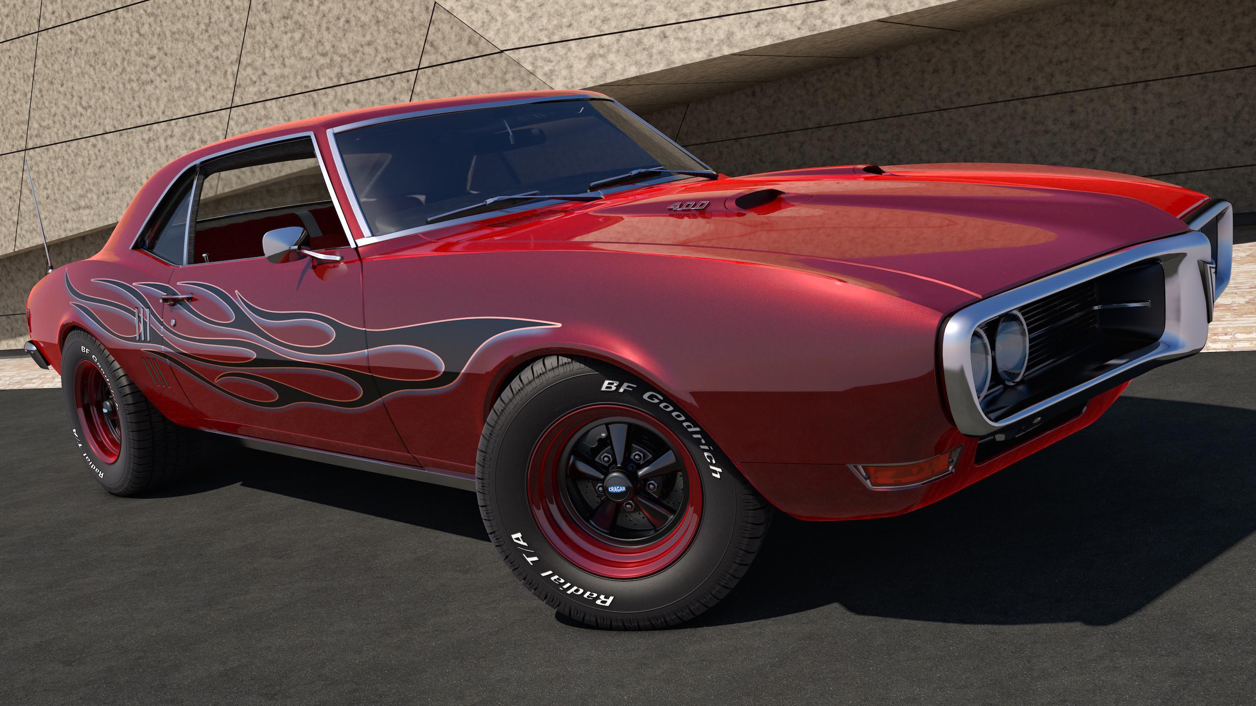 Res: 2560x1440, 1968 Pontiac Firebird 400 by SamCurry 1968 Pontiac Firebird 400 by SamCurry