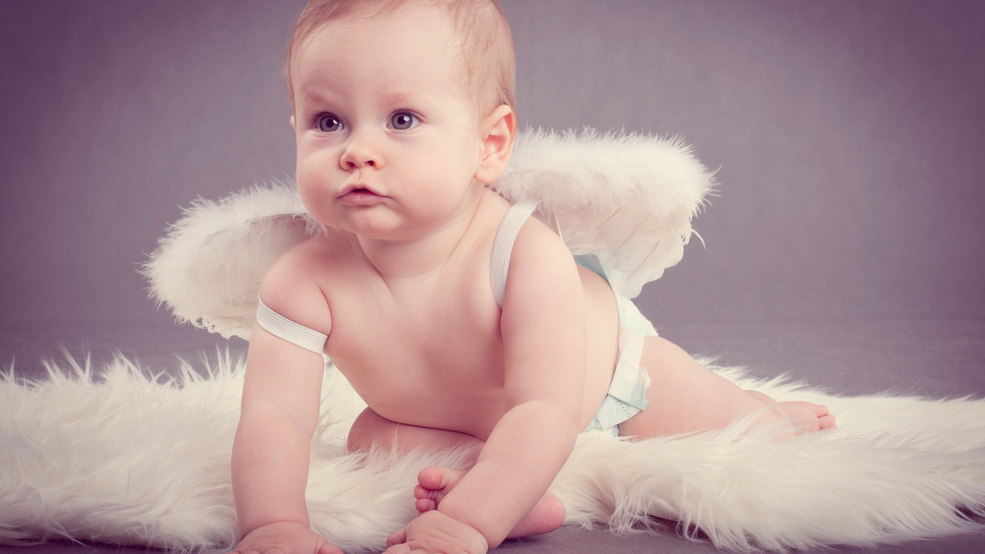 Res: 1920x1080, Baby Angel With Wings