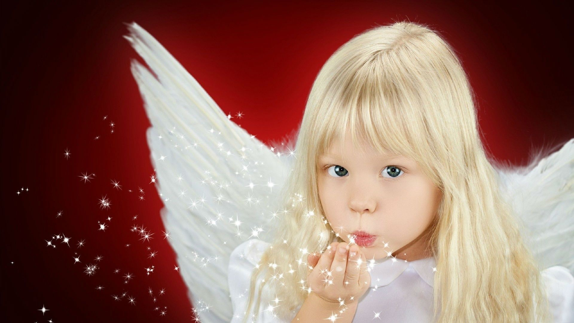 Res: 1920x1080, Beautiful angel baby magic blow