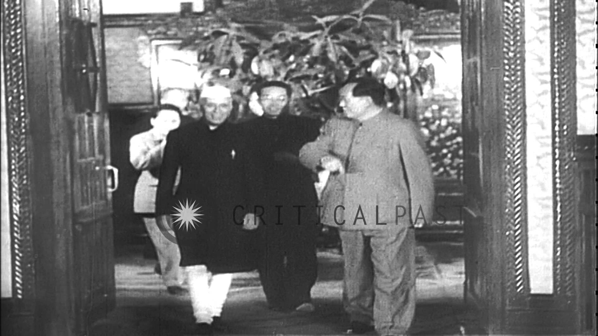 Res: 1920x1080, Indian Prime Minister Jawaharlal Nehru and Chinese leaders Mao Tse-tung and  Chou ...HD Stock Footage - YouTube