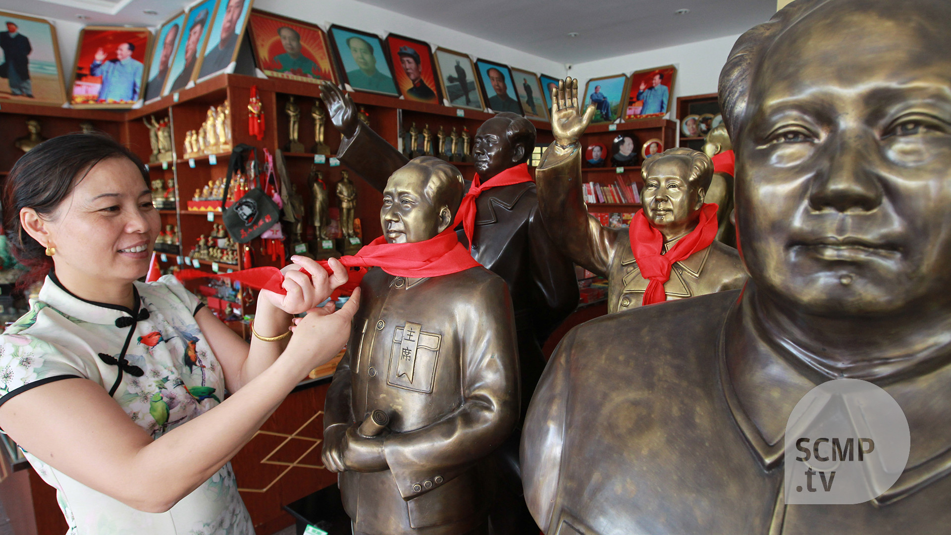 Res: 1920x1080, 40 years after his death, Chairman Mao remains popular in his hometown |  South China Morning Post