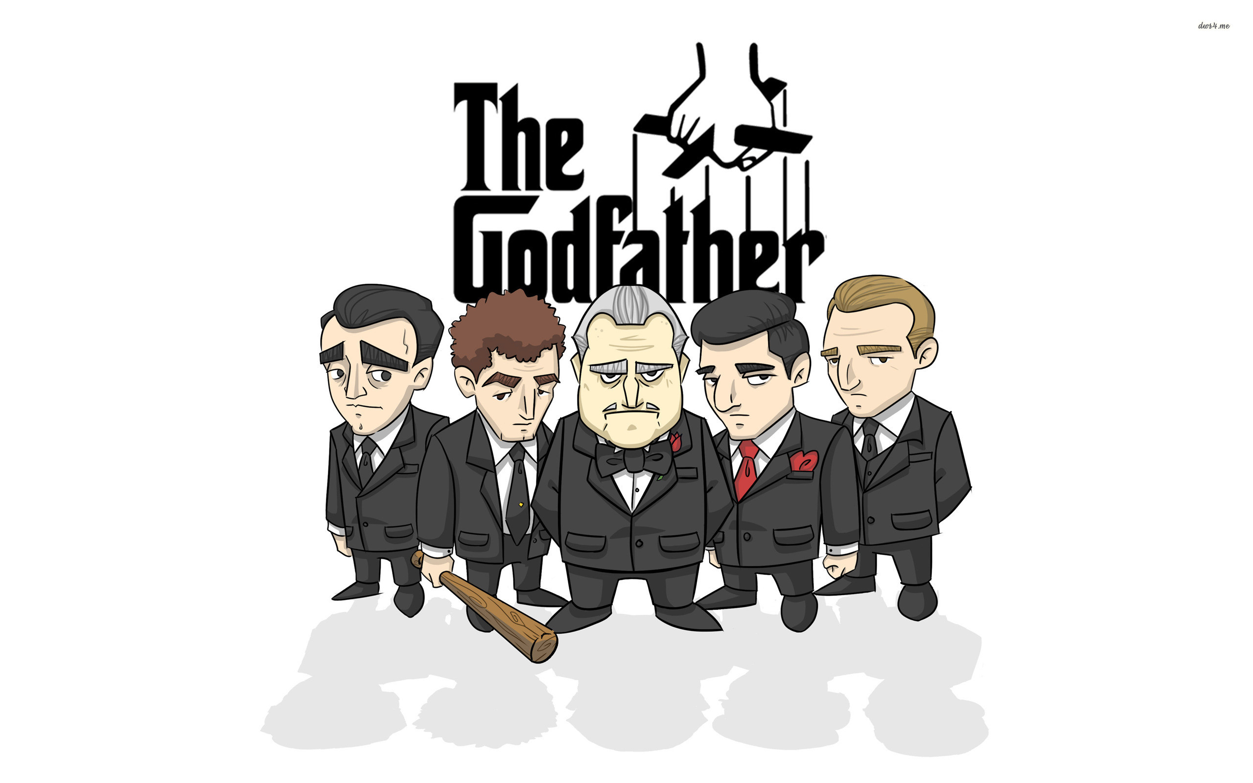 Res: 2560x1600, ... The Godfather wallpaper  ...