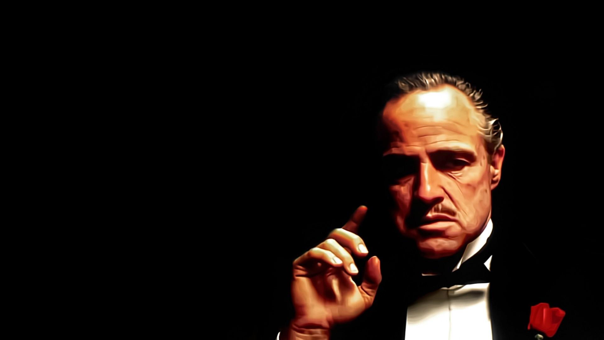 Res: 1920x1080, The Godfather · Marlon Brando