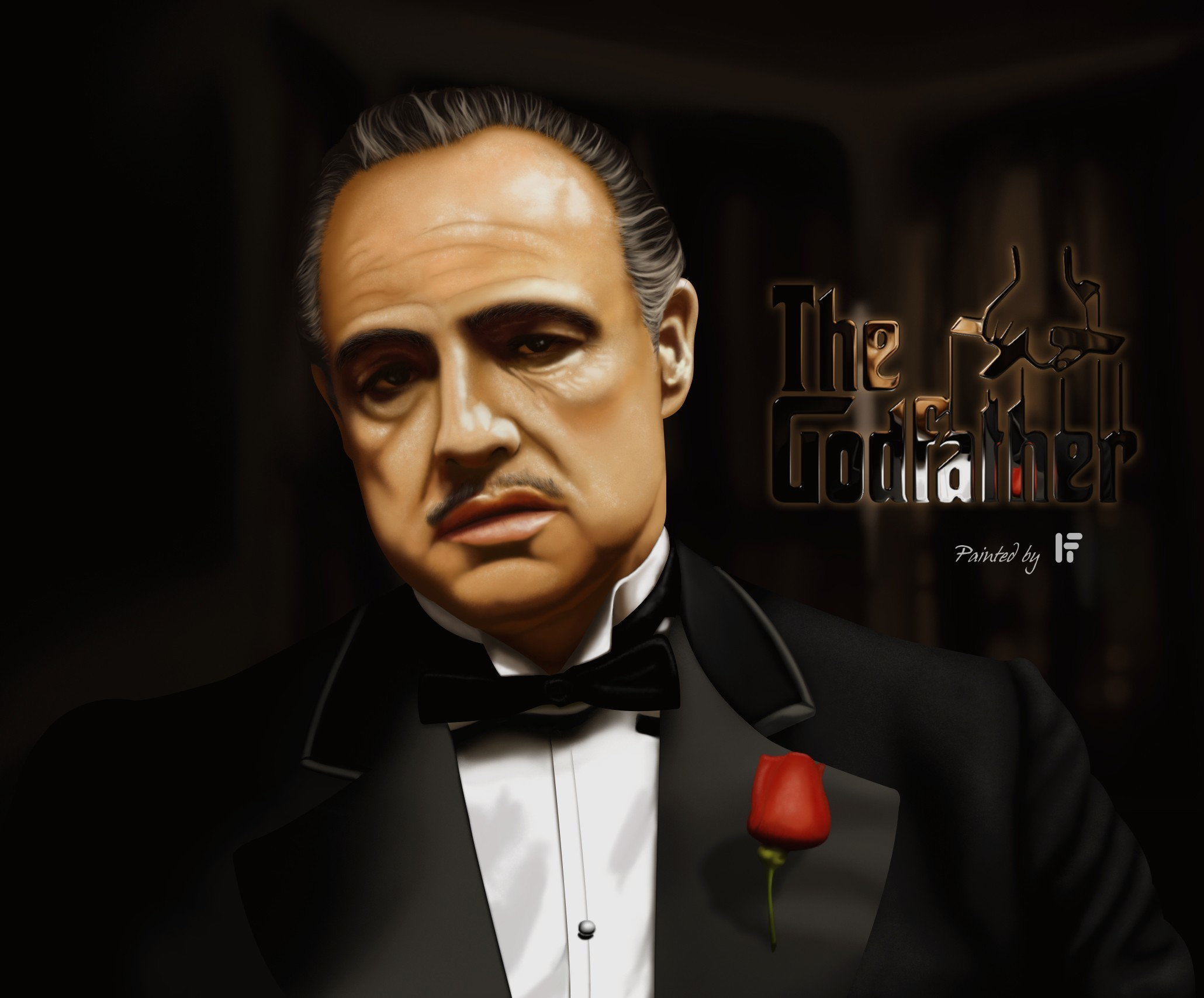 Res: 2060x1708, The Godfather wallpaper