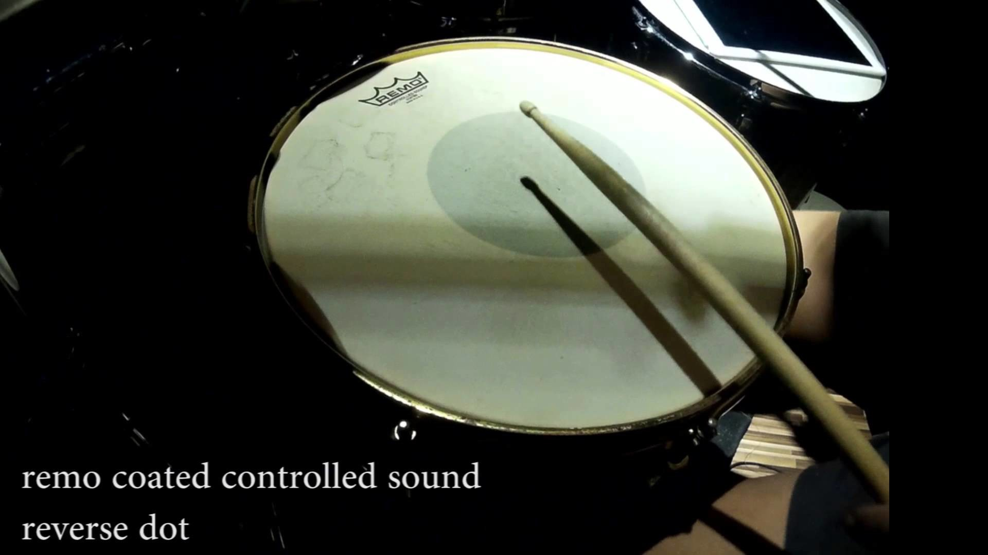 Res: 1920x1080, remo snare head test