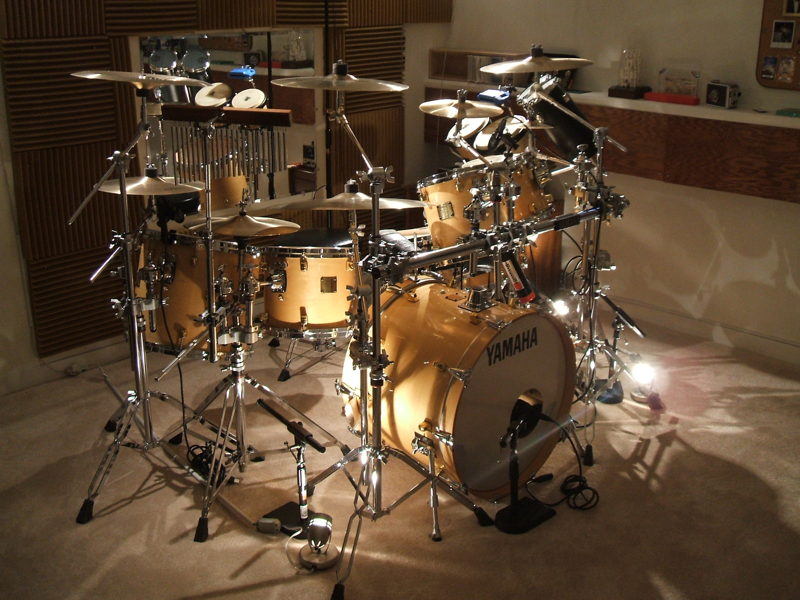 Res: 2592x1944, Adorable Yamaha Drums Background, 229193078