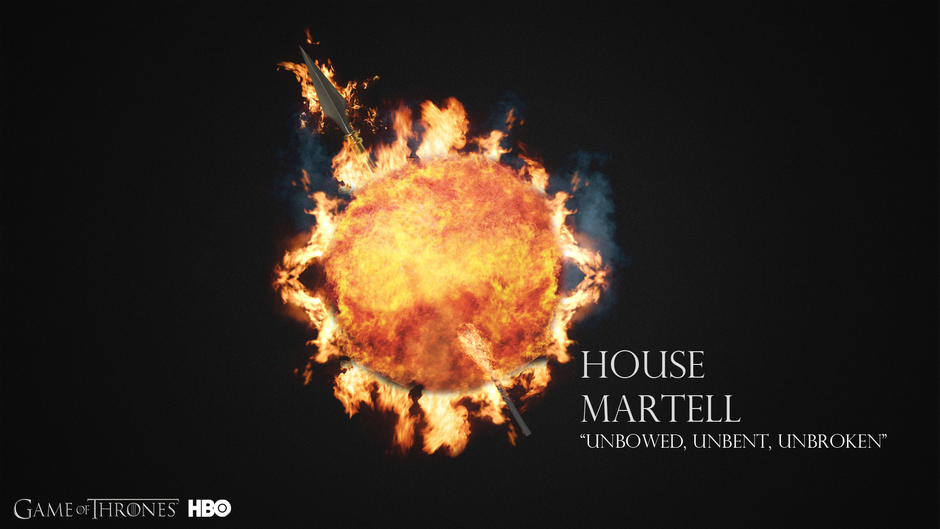 Res: 1920x1080, ... House Martell - Wallpaper 1080p by BananaStem
