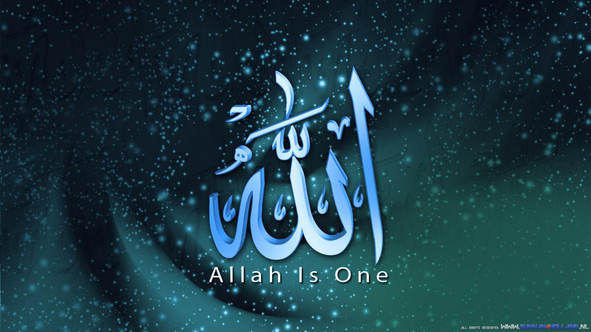 Res: 1920x1080, Allah Is One Wallpaper 1920X1080 HD Widescreen