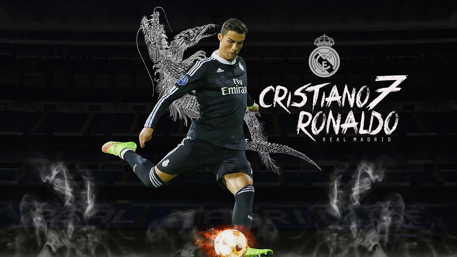 Res: 1920x1080, ... Cristiano-Ronaldo-Real-Madrid-wallpaper-Real Madrid Wallpapers ...