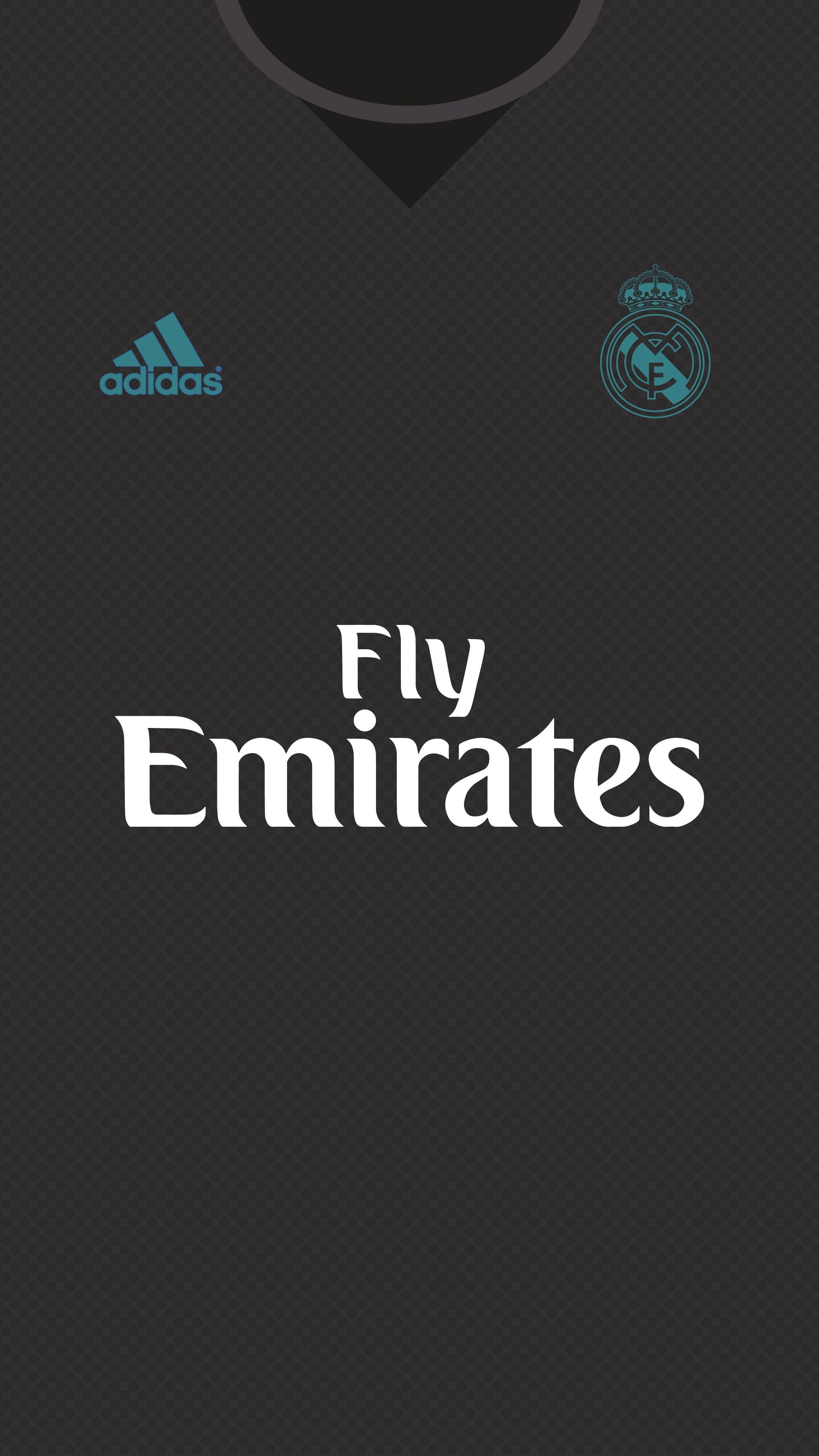 Res: 2080x3698, Real Madrid Kit 2017/18 | Wallpaper for mobile on Behance