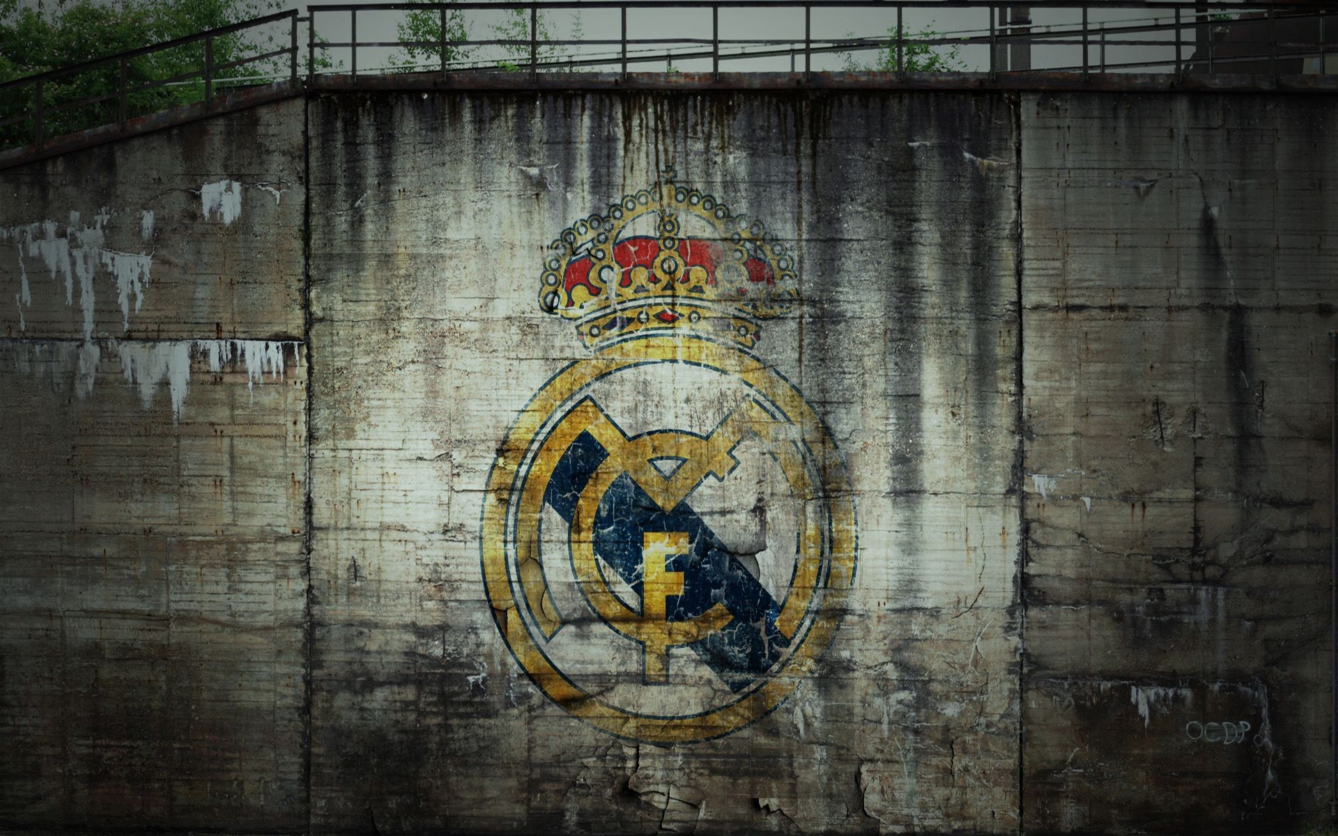 Res: 1920x1200, Real Madrid Logo in Graffiti Style for Wallpaper | HD Wallpapers .