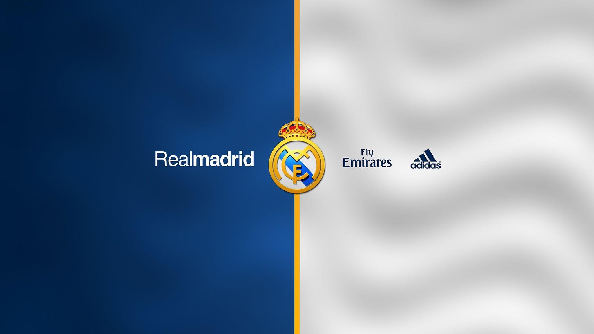 Res: 2048x1152, Real Madrid Fly Emirates Adidas Logo HD Wallpa #1150 Desktop .