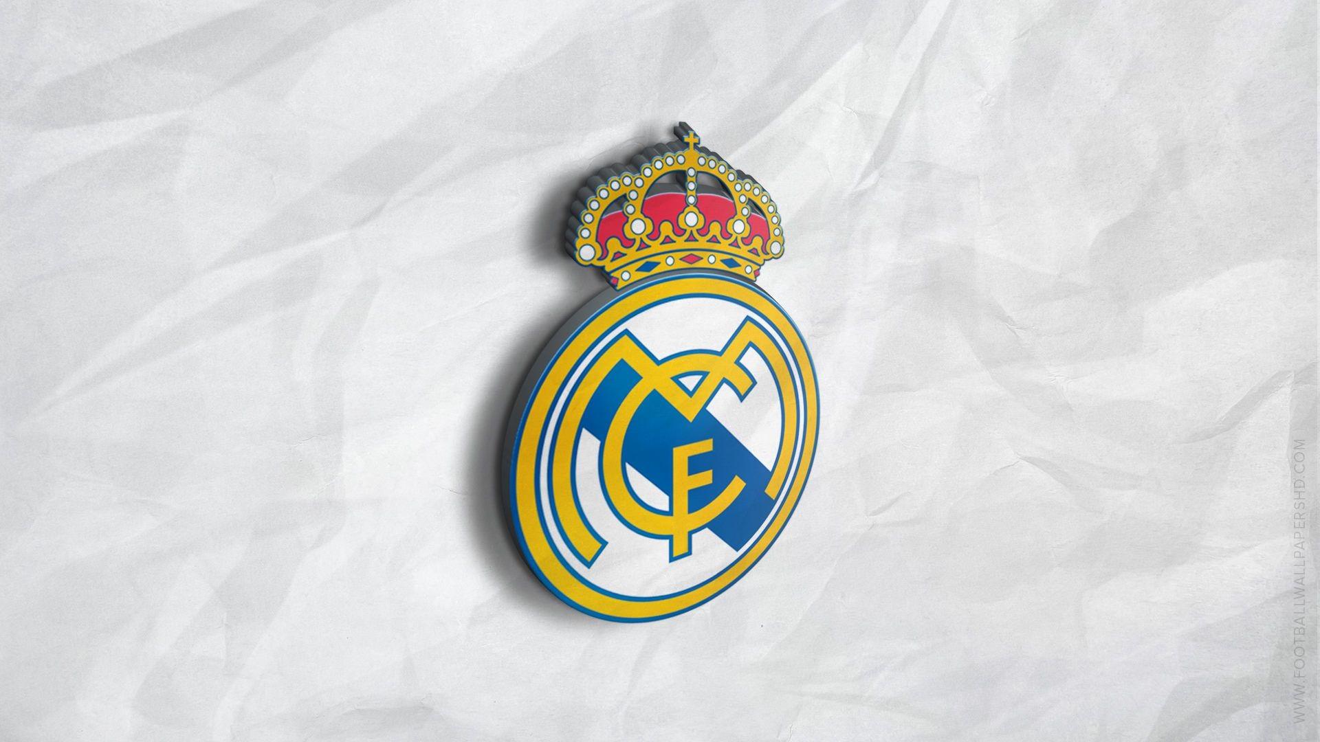 Res: 1920x1080, Real Madrid 3D Logo Wallpaper