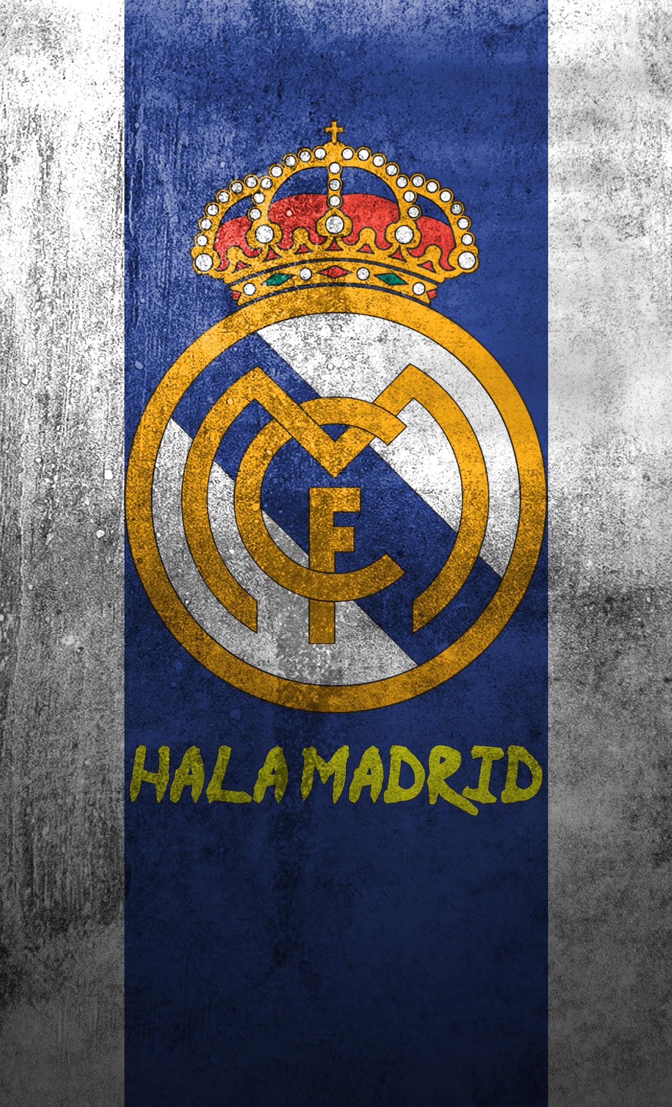 Res: 1356x2232, ... Real Madrid logo mobile wallpaper (2) by Adik1910