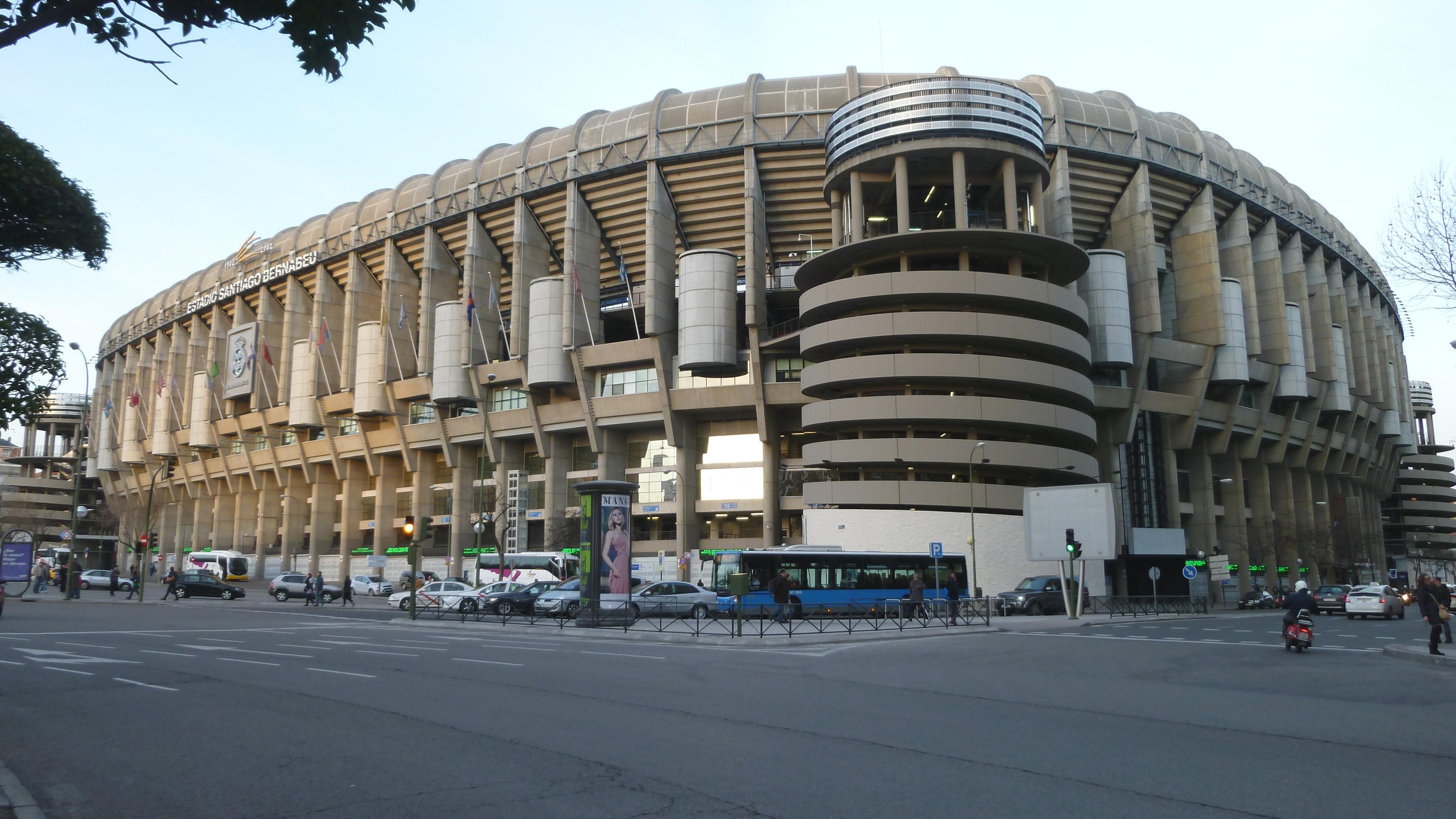 Res: 3840x2160, Real Madrid stadium wallpaper