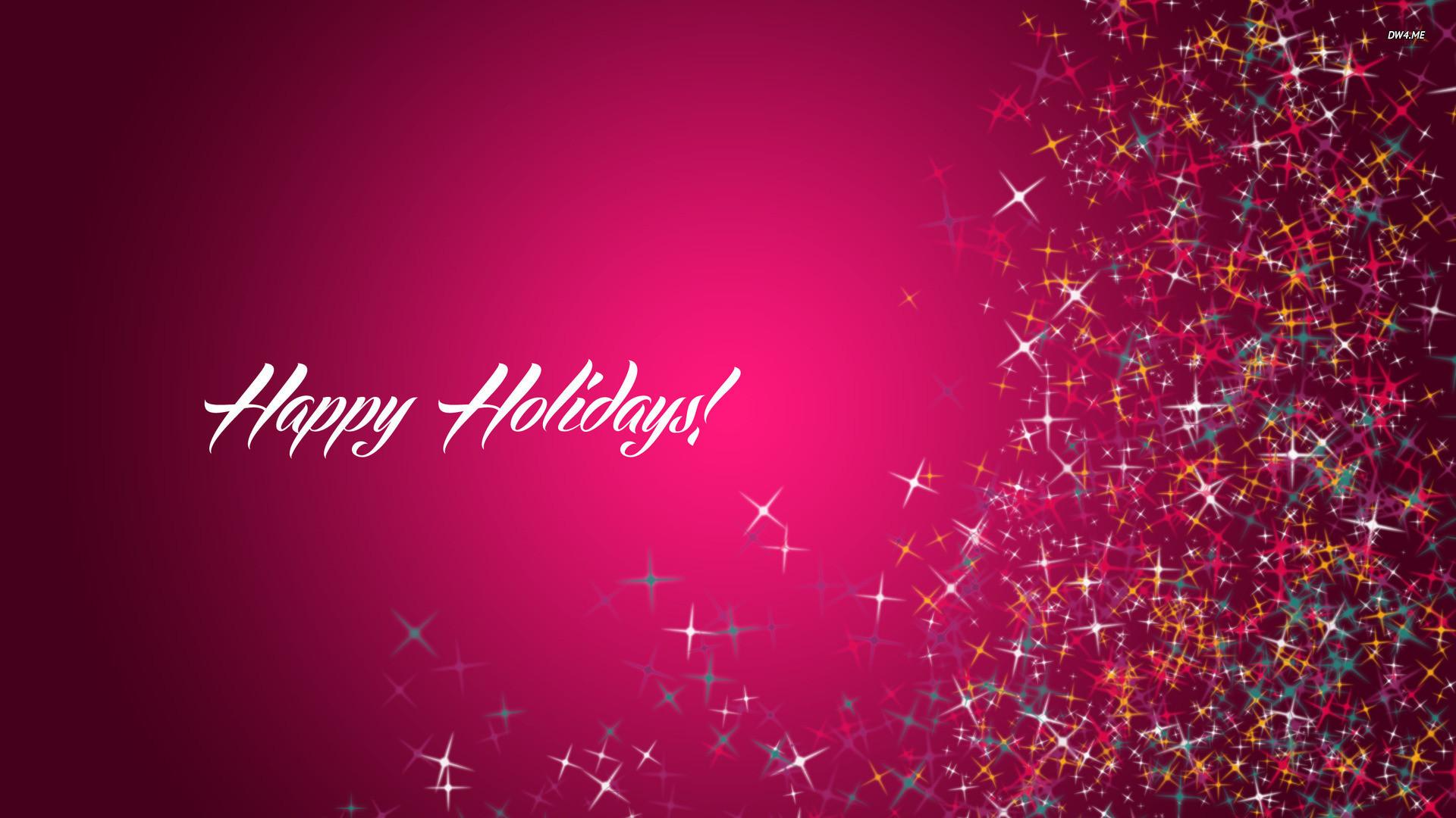 Res: 1920x1080,  Happy Holidays wallpaper