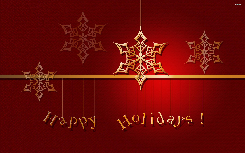 Res: 2880x1800, ... Happy Holidays wallpaper  ...
