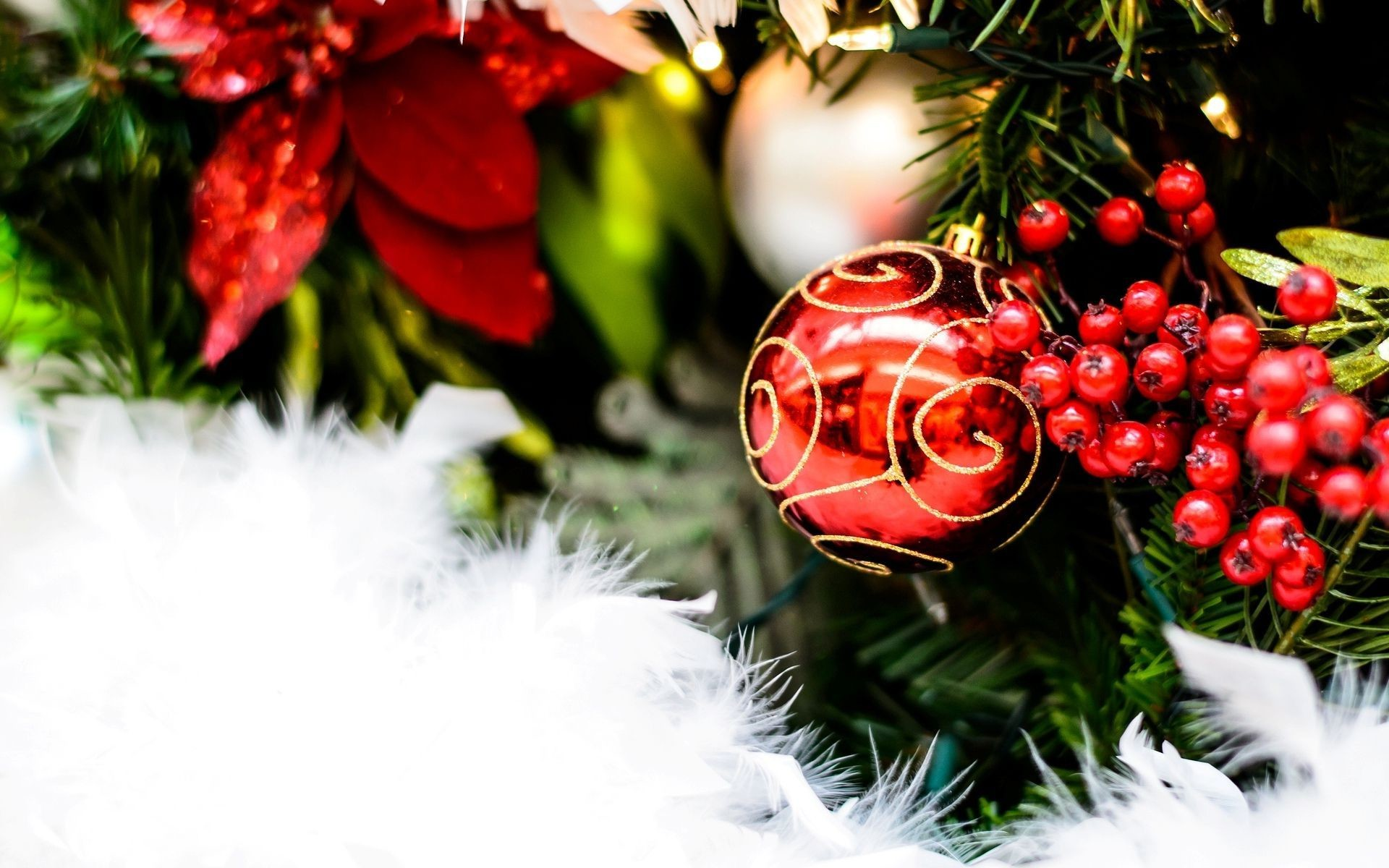 Res: 1920x1200, Happy Holidays Wallpaper